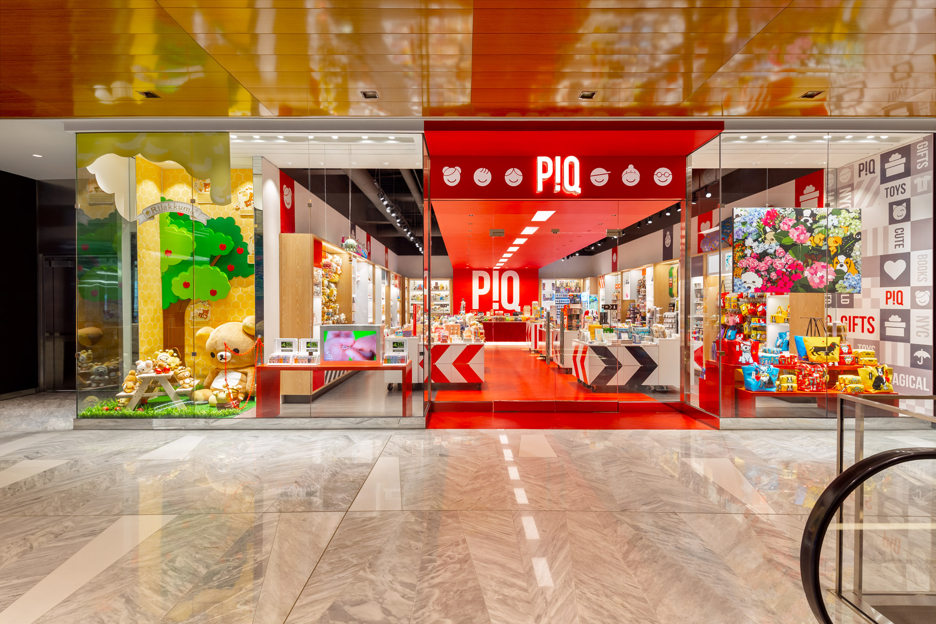 PiQ Hudson Yards retail store