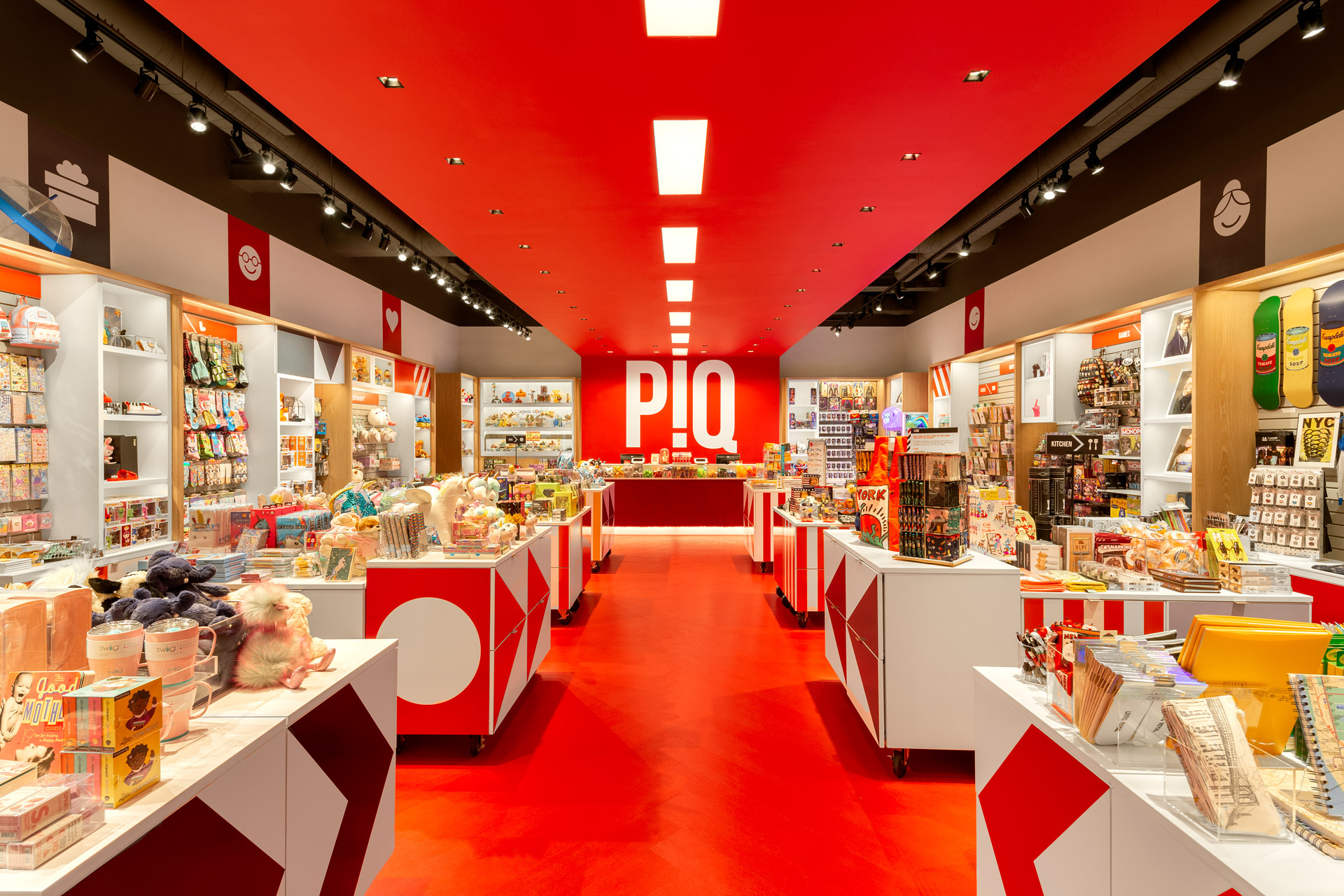 PiQ Hudson Yards retail store design