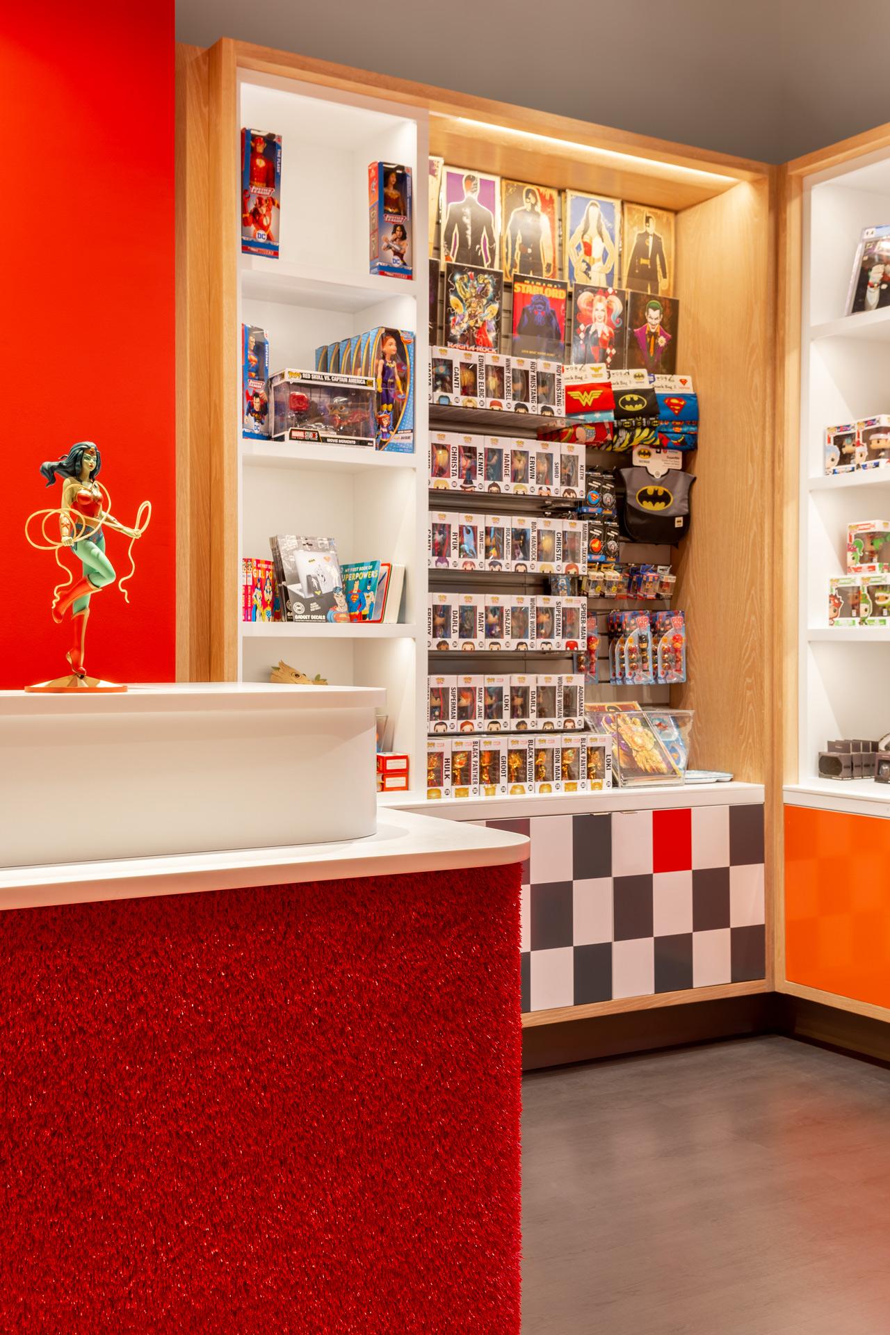 PiQ Hudson Yards retail store designer