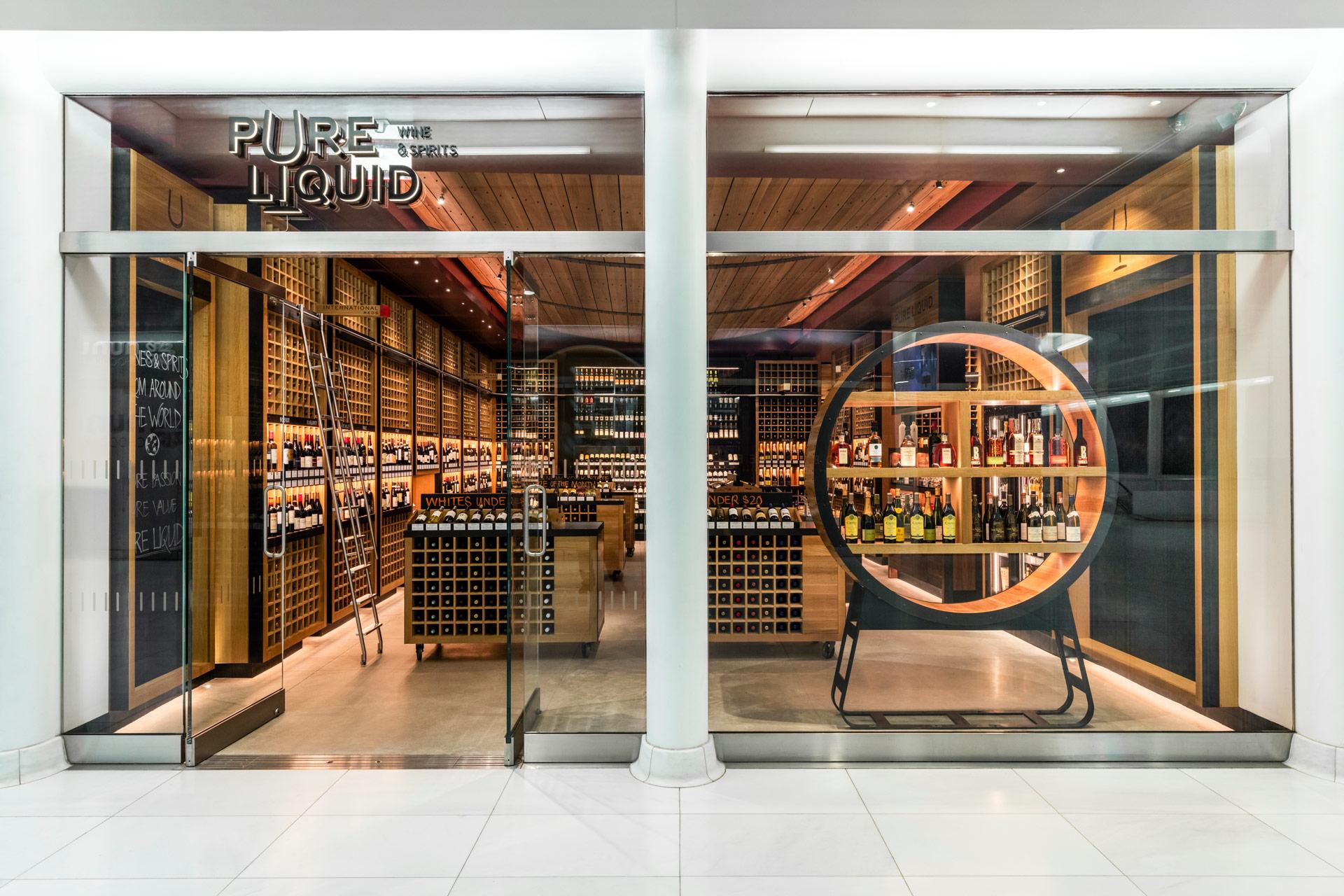 Pure Liquid Wine & Spirits retail store