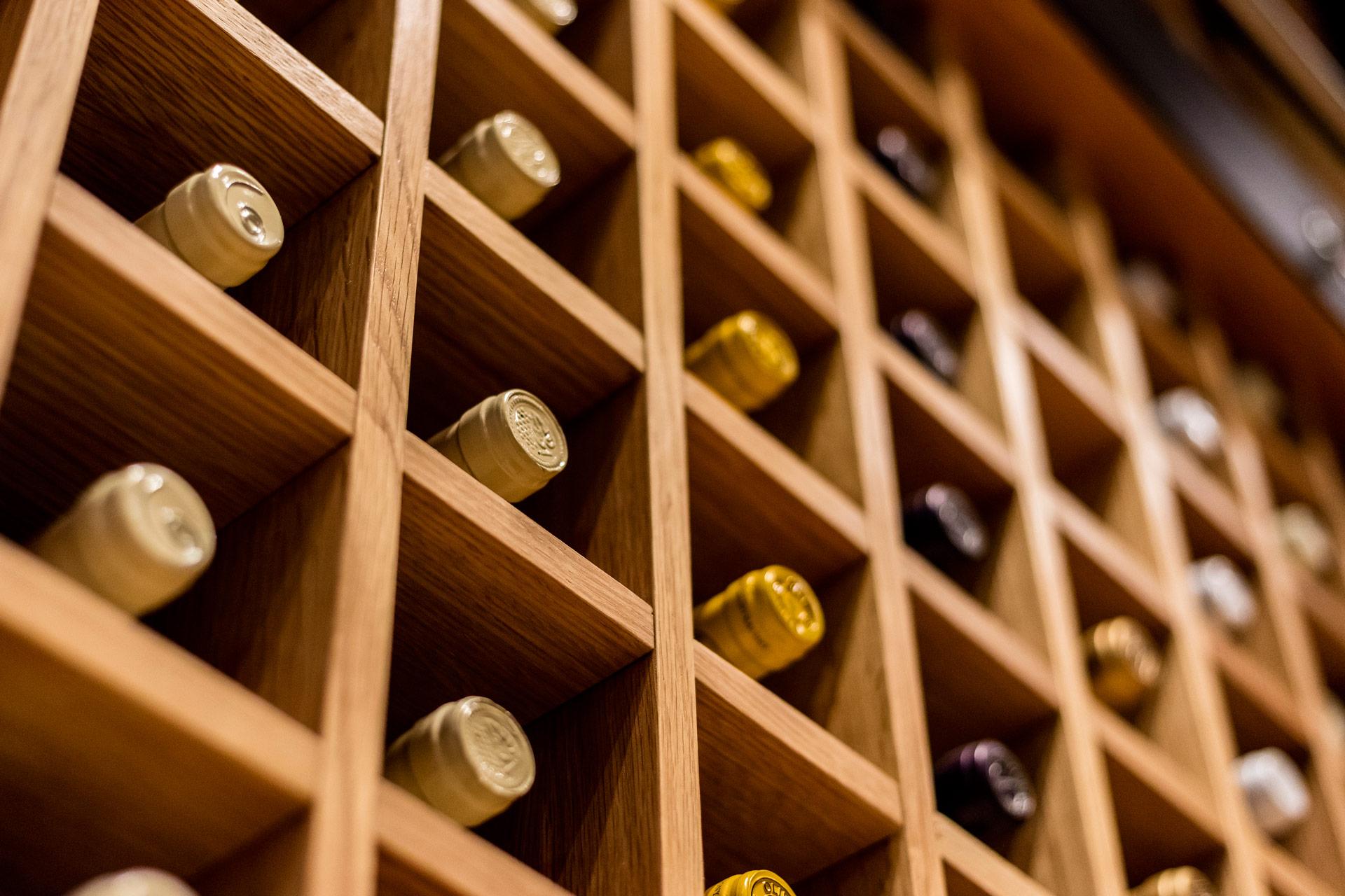 Pure Liquid Wine & Spirits retail store design ideas