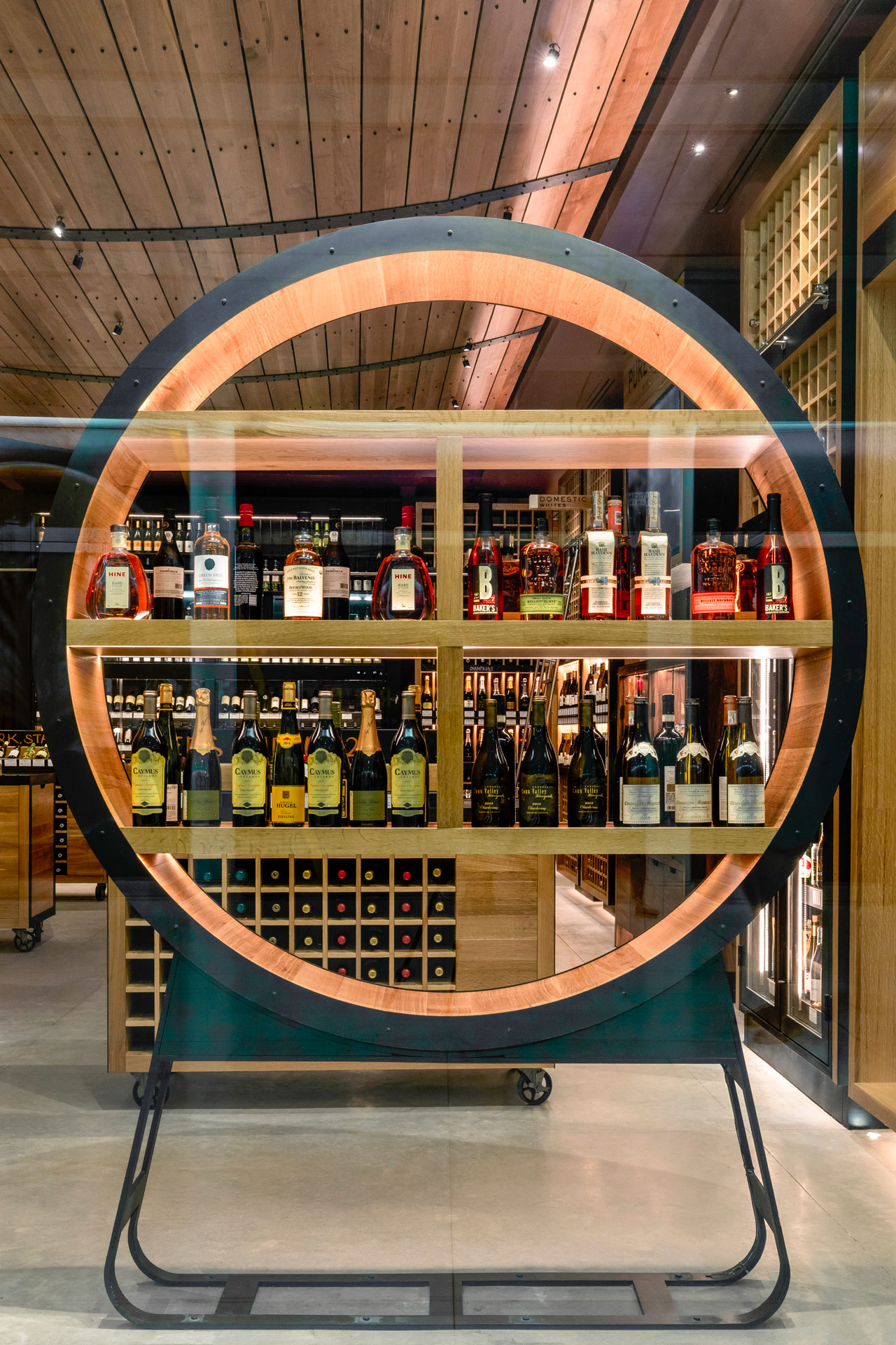 Pure Liquid Wine & Spirits retail store modern design