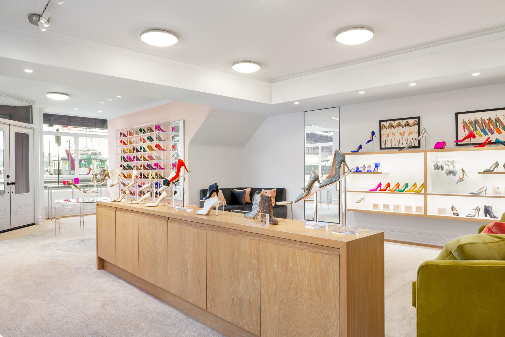 SJP by Sarah Jessica Parker retails store design ideas