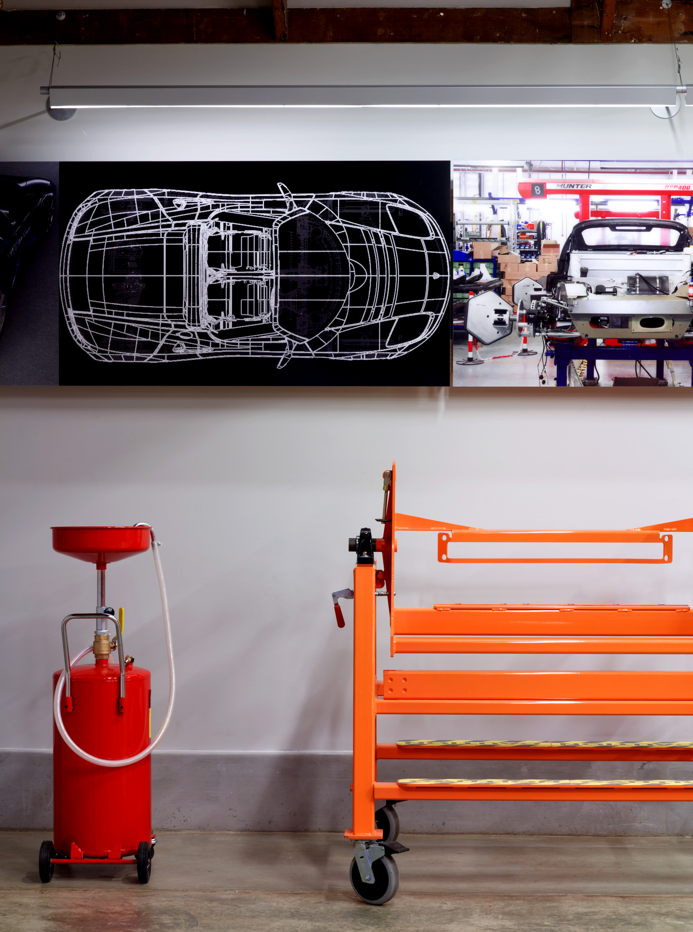 Tesla Showroom retail store interior design