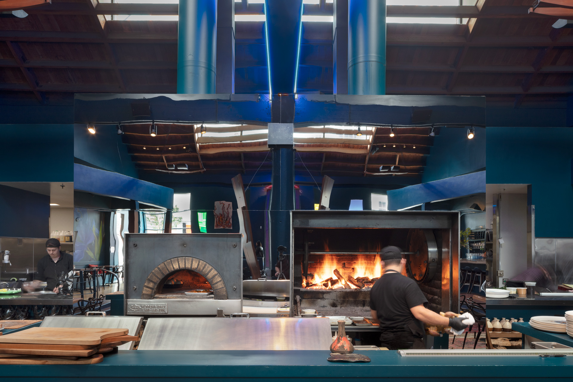 Palette Folsom restaurant design