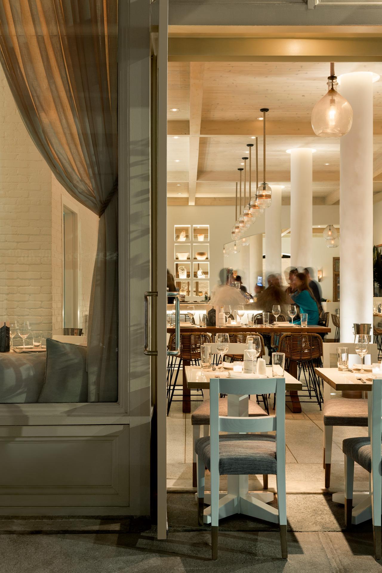 Kyma restaurant interiors