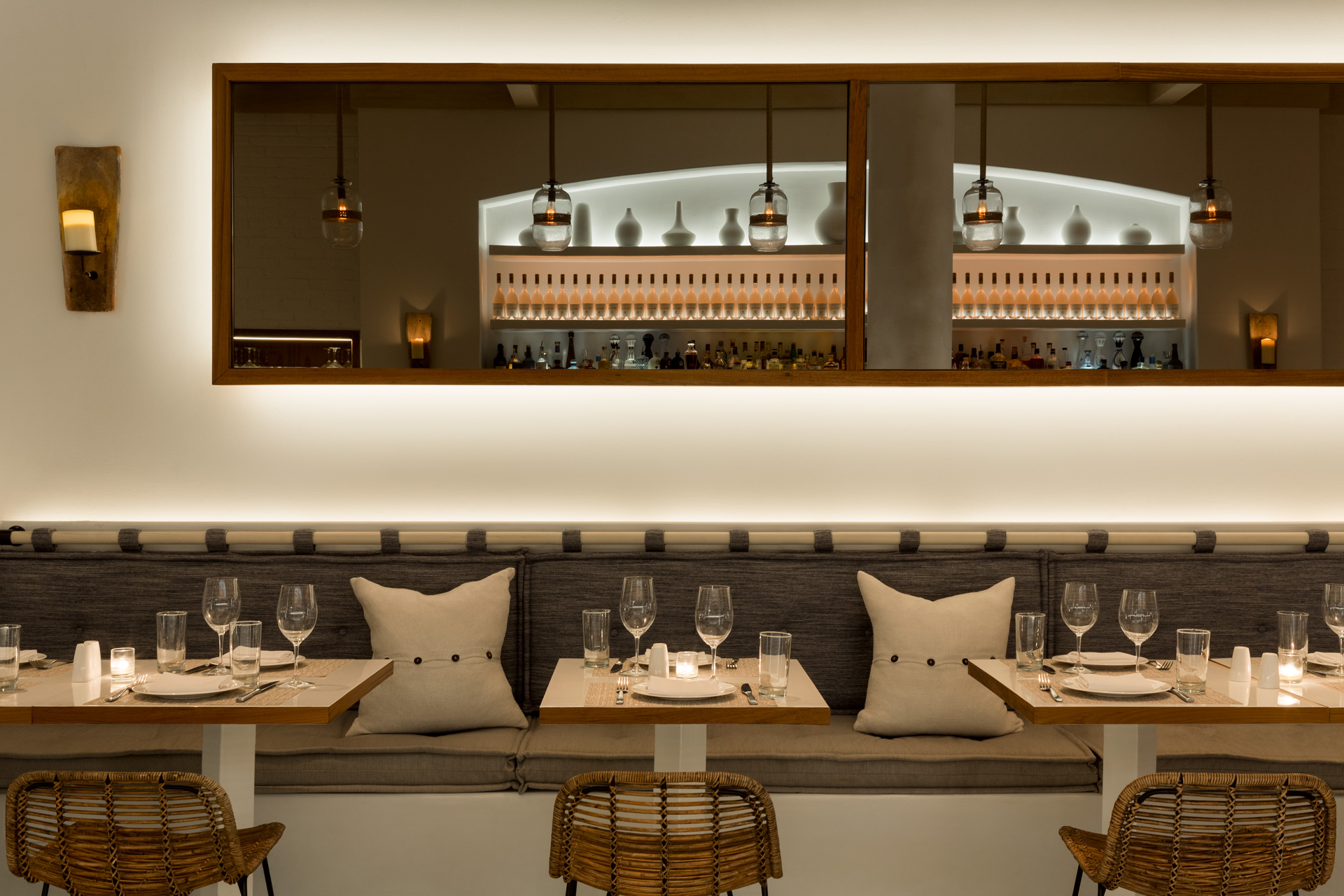Kyma restaurant designer