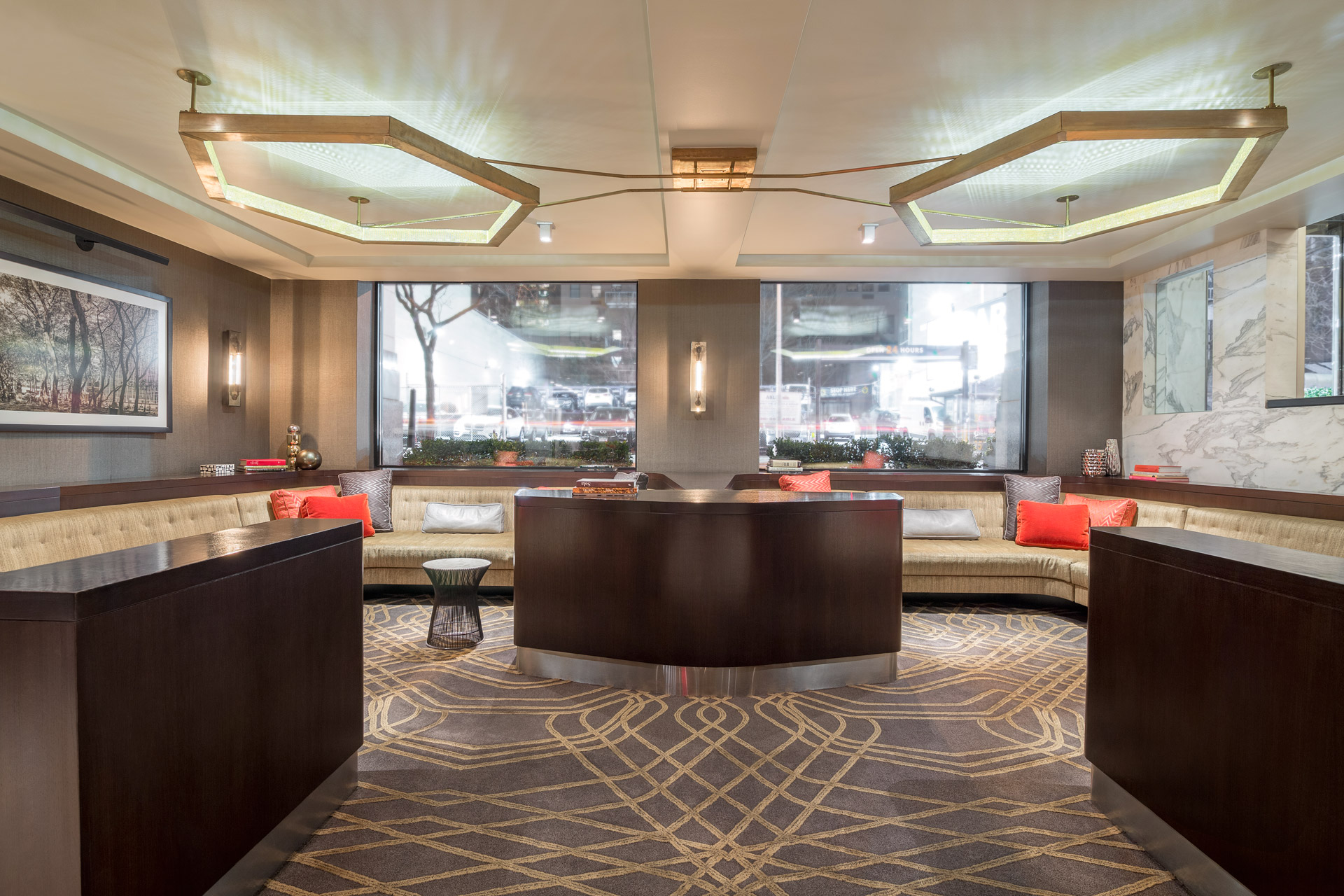 Park South Hotel interiors