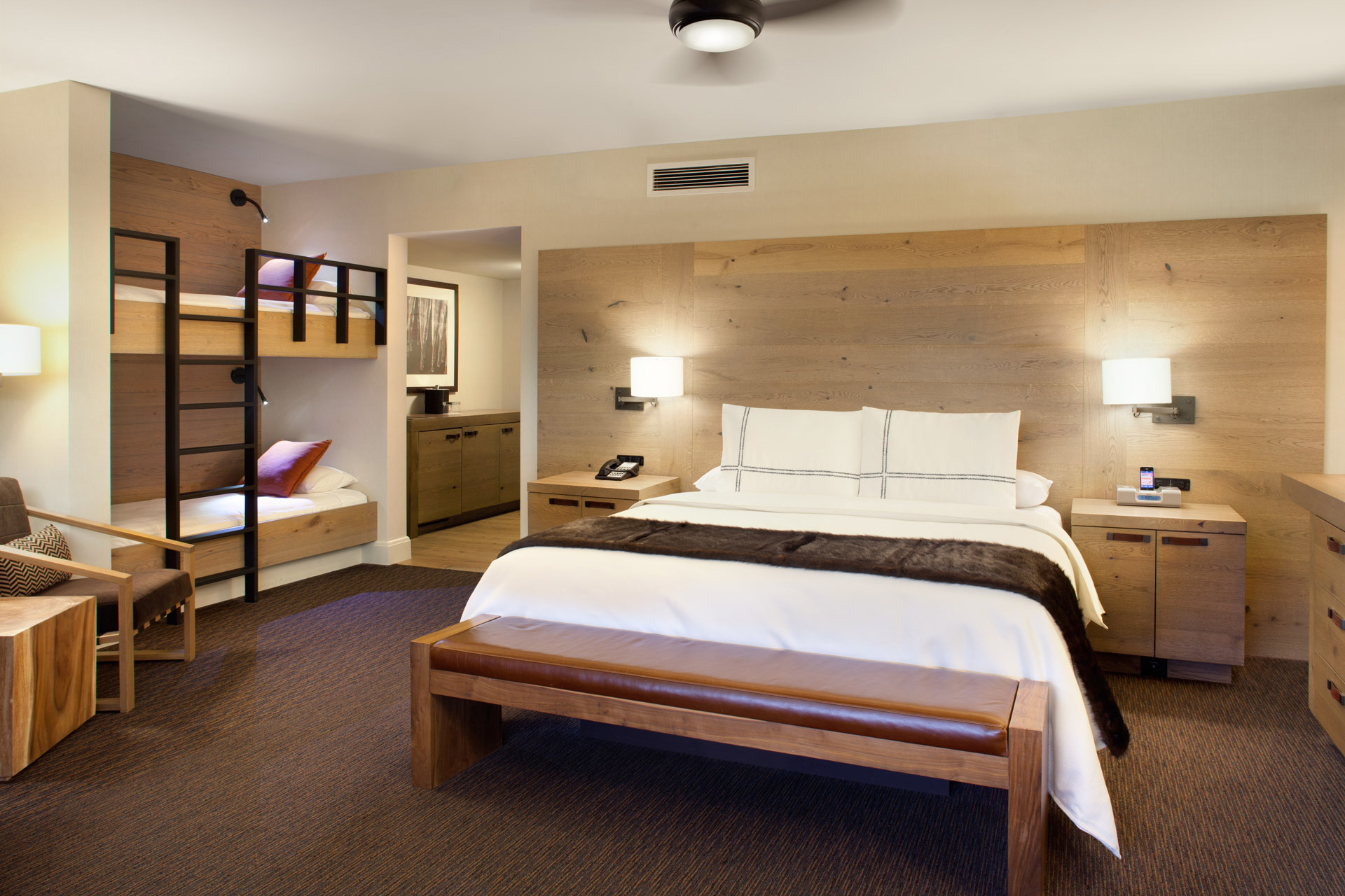 Hyatt Lake Tahoe Guestrooms designer