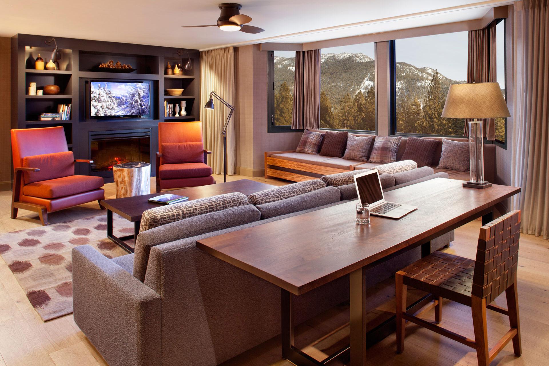 Hyatt Lake Tahoe Guestrooms design ideas