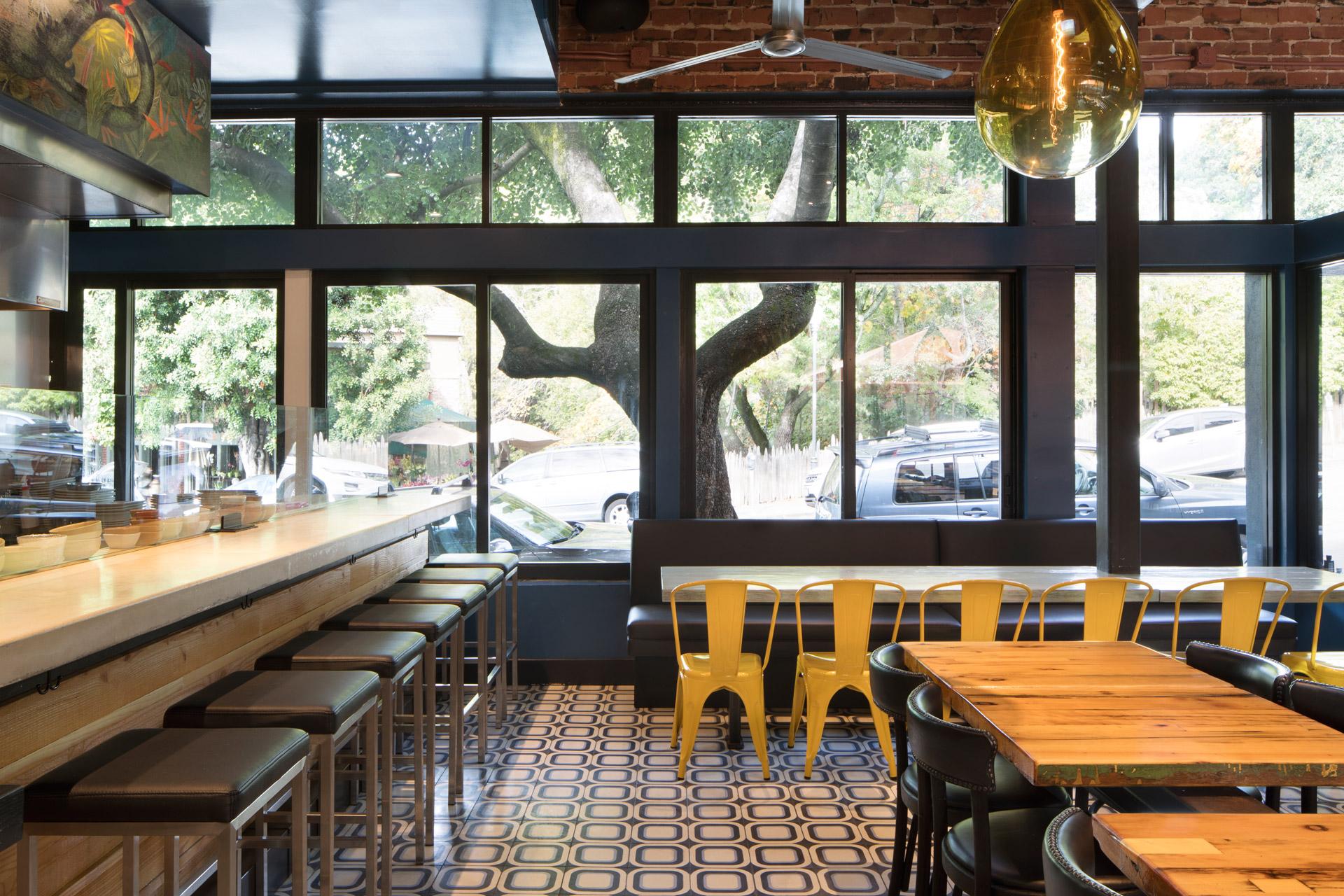 Playa restaurant interiors