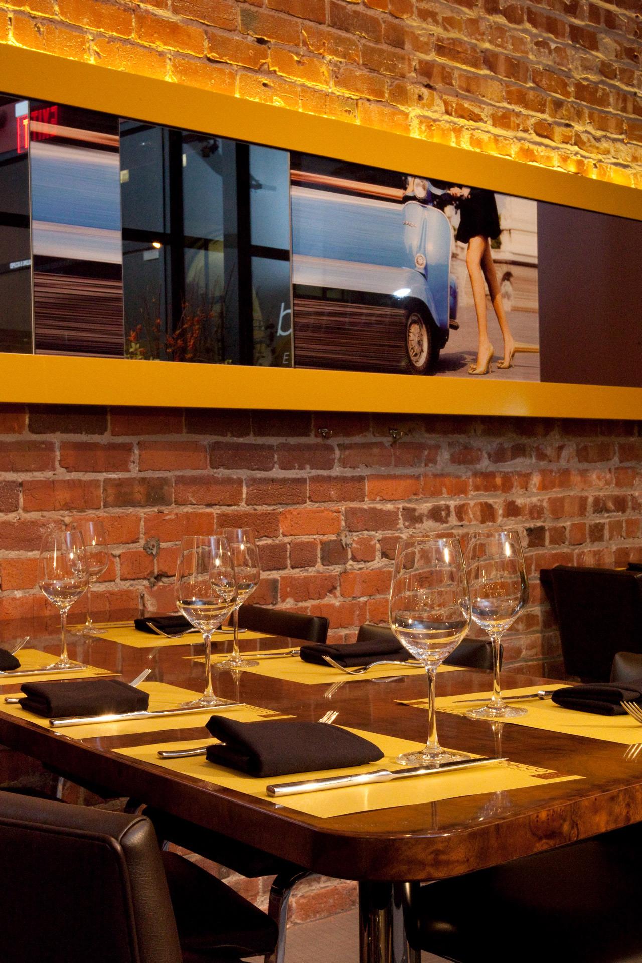 Barbacco restaurant design