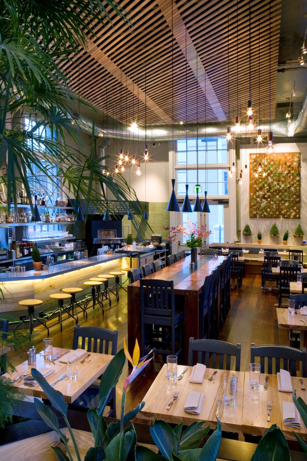 The Plant: Café Organic restaurant decor ideas