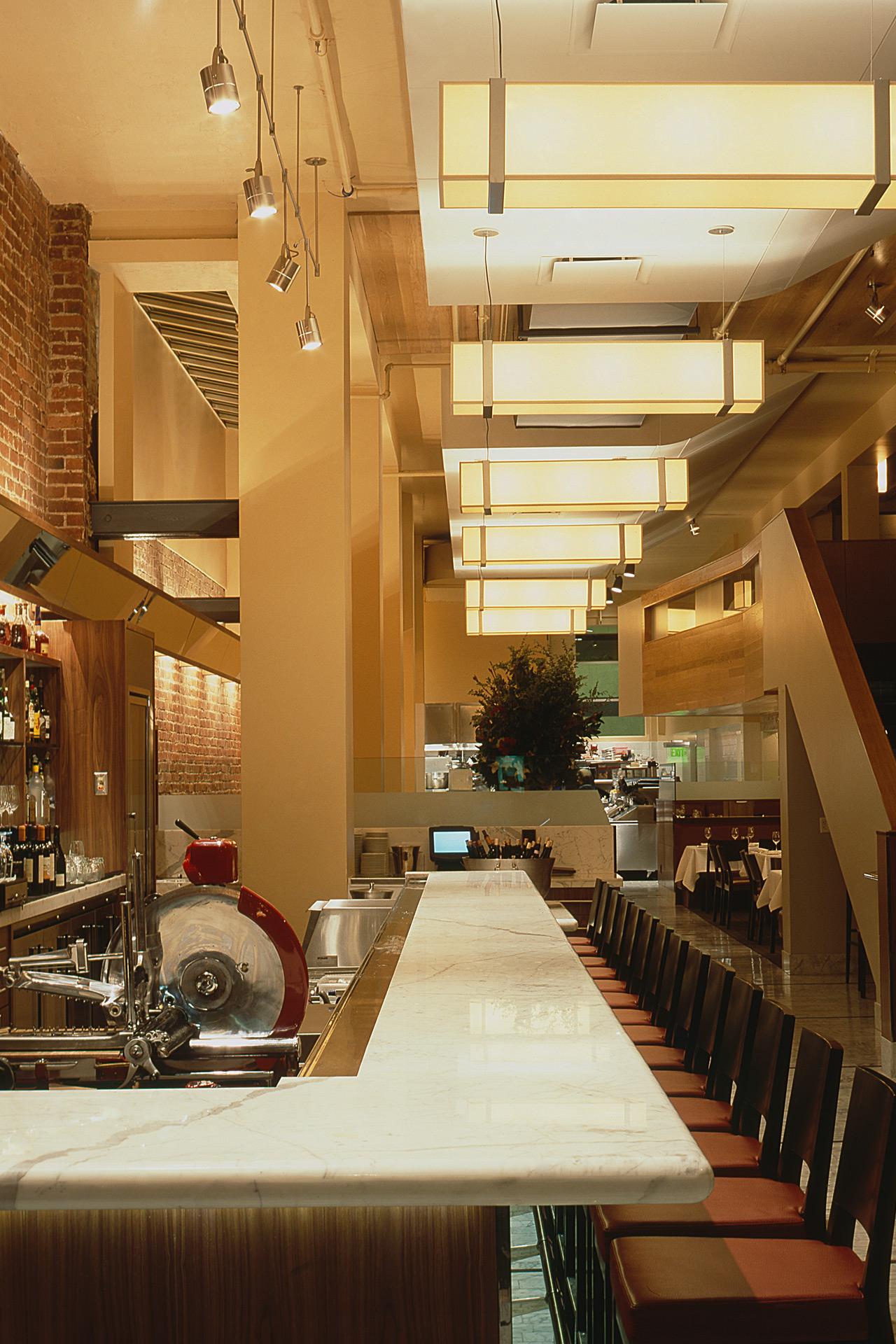 Perbacco restaurant design ideas
