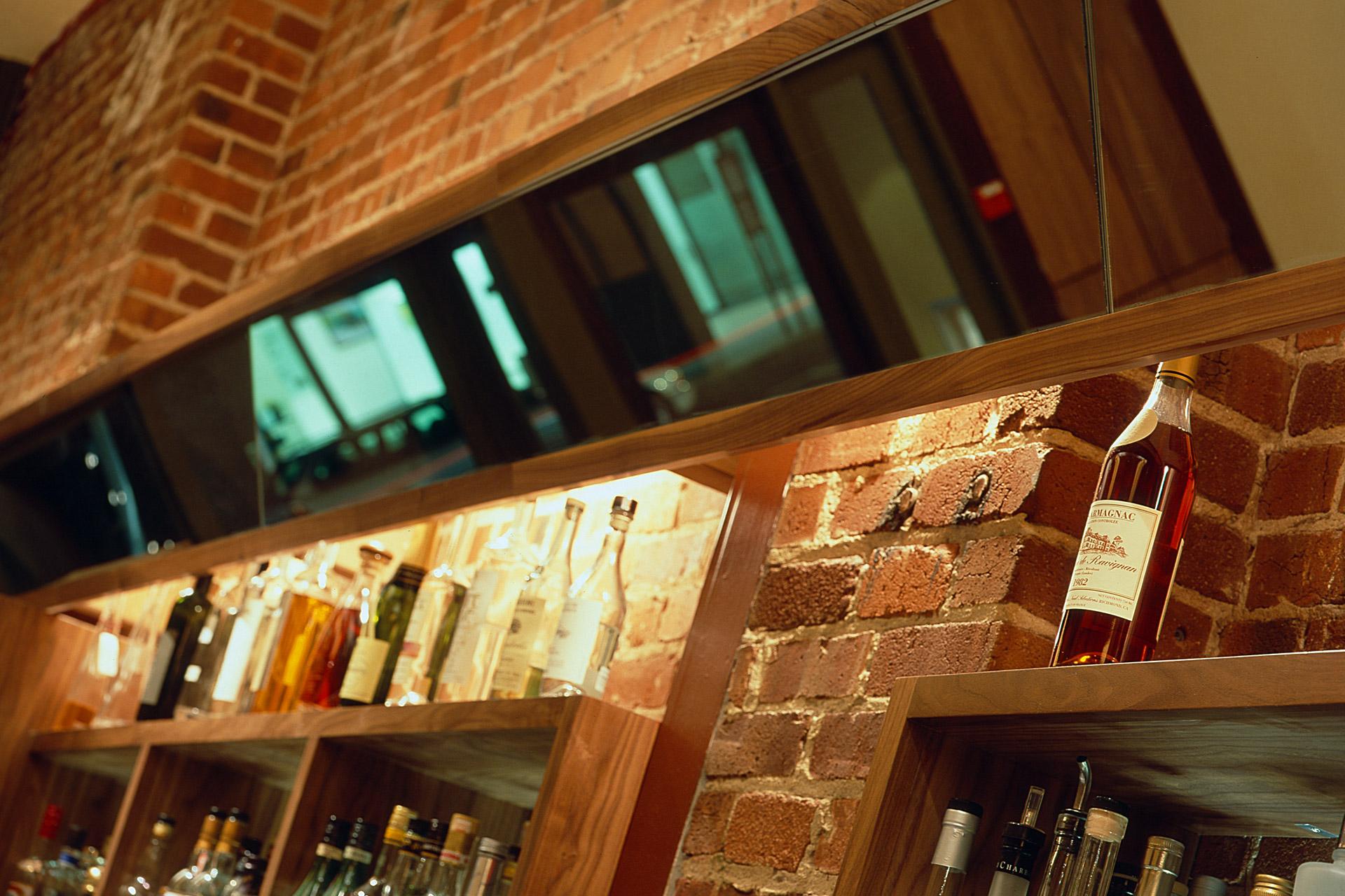 Perbacco restaurant home design