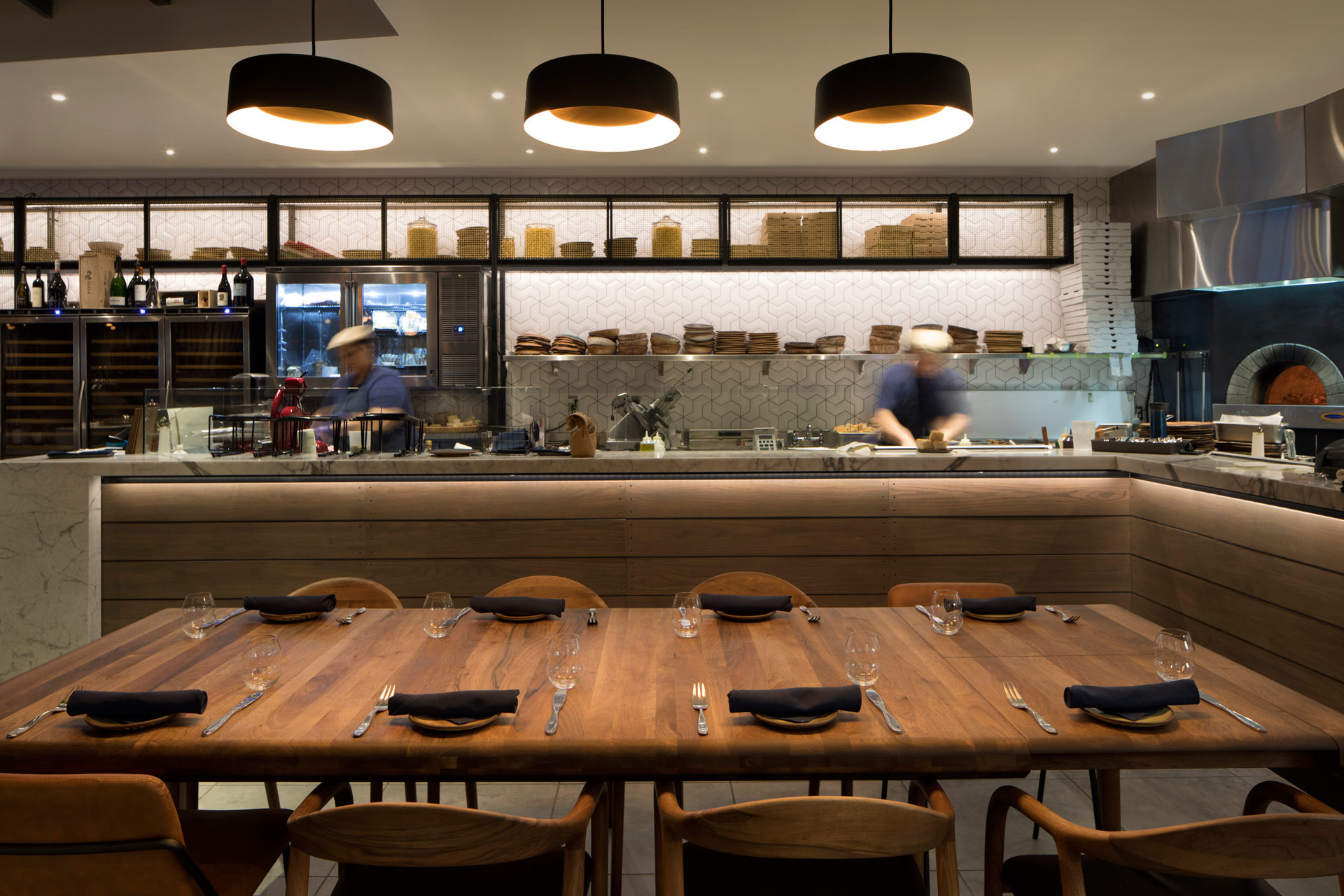 Pausa Bar & Cookery restaurant designer