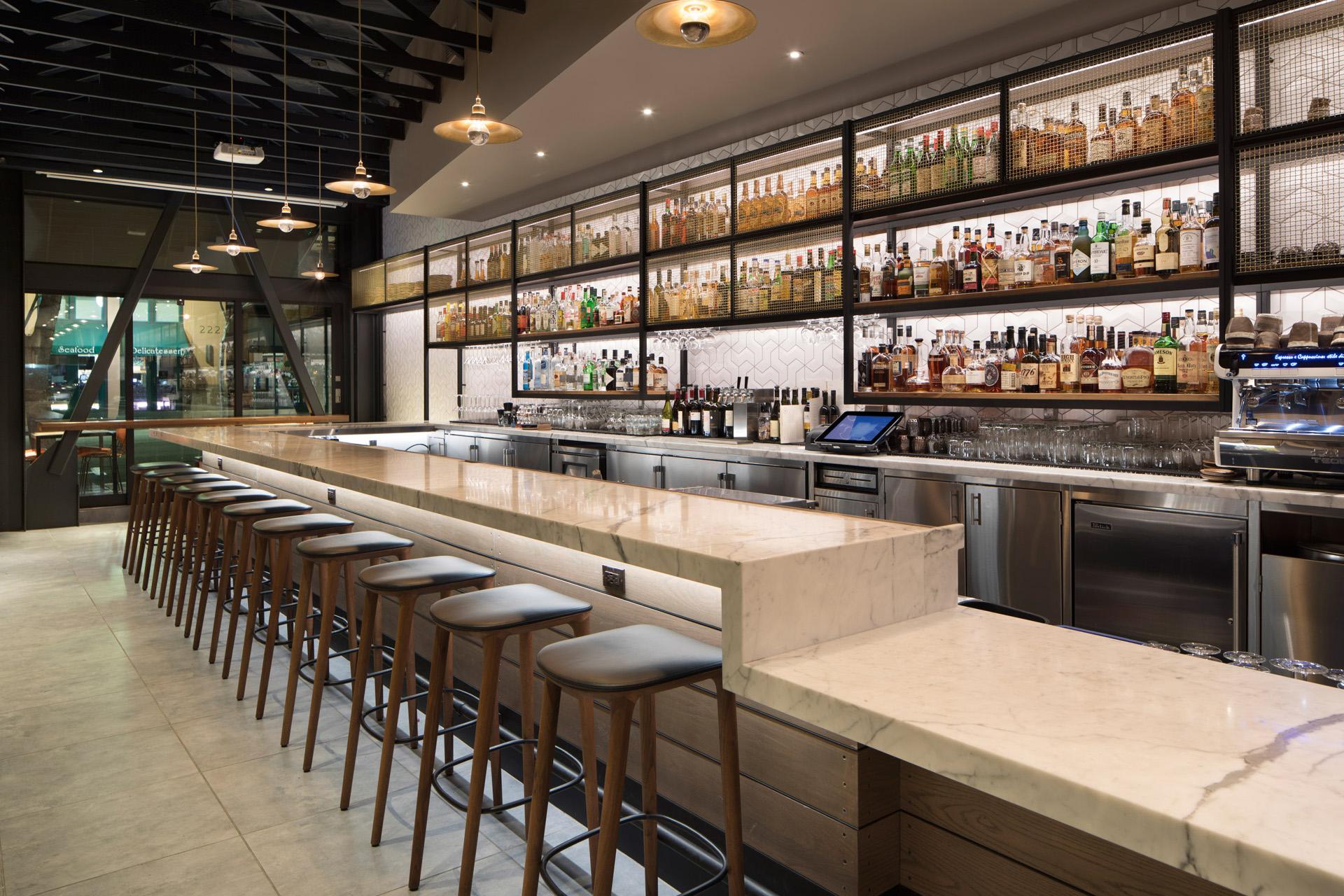 Pausa Bar & Cookery restaurant designer near me