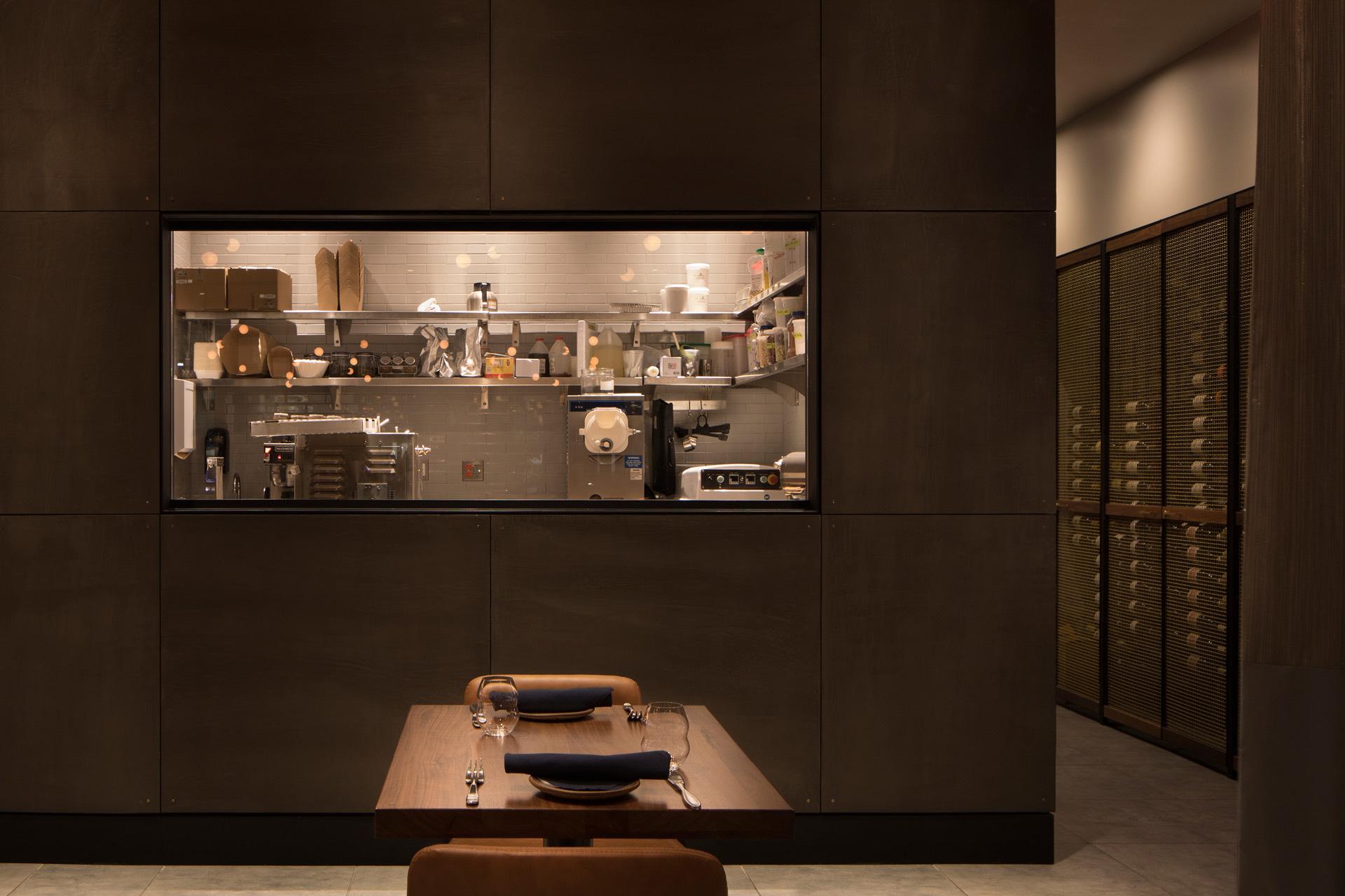 Pausa Bar & Cookery restaurant interiors