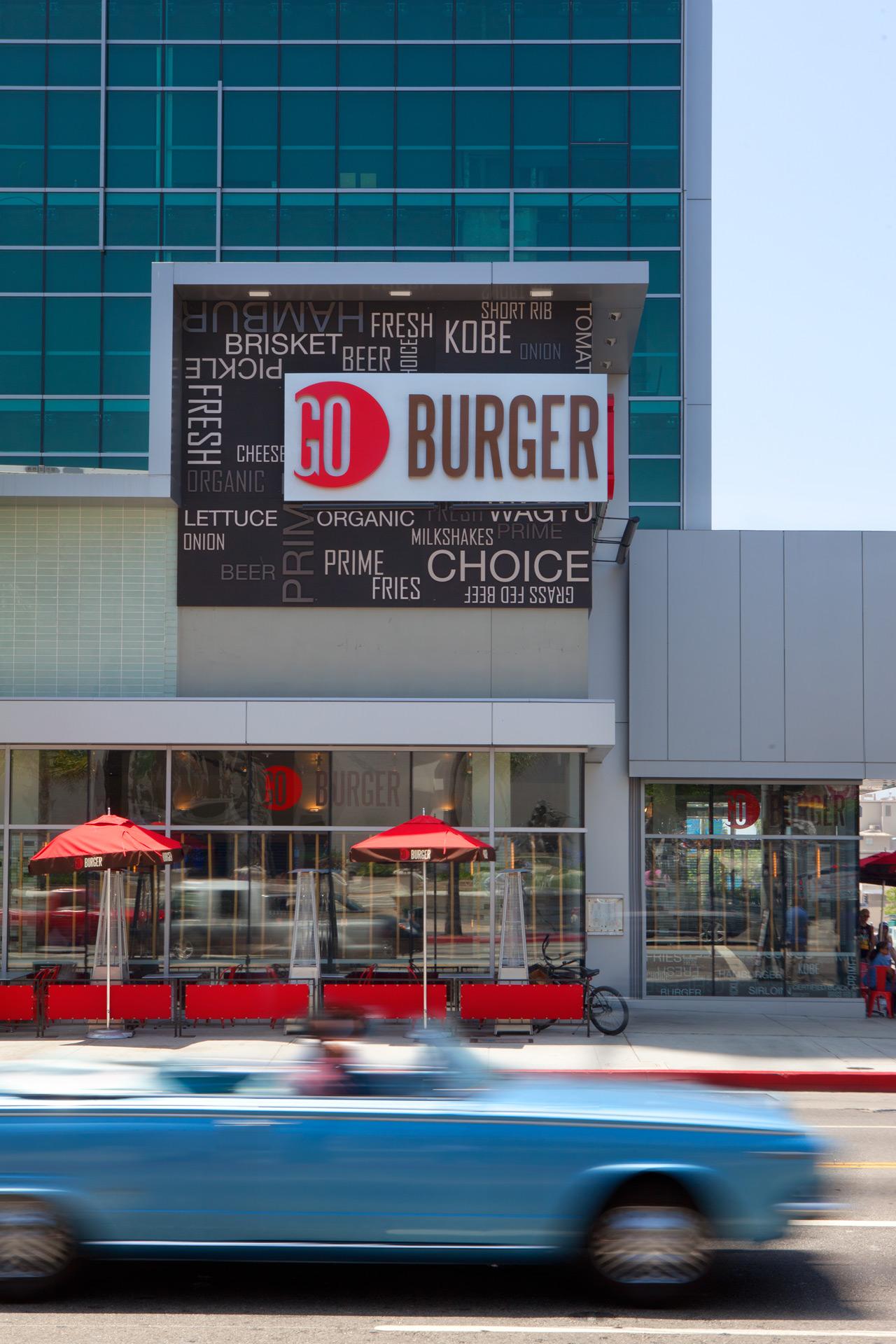Go Burger LA restaurant