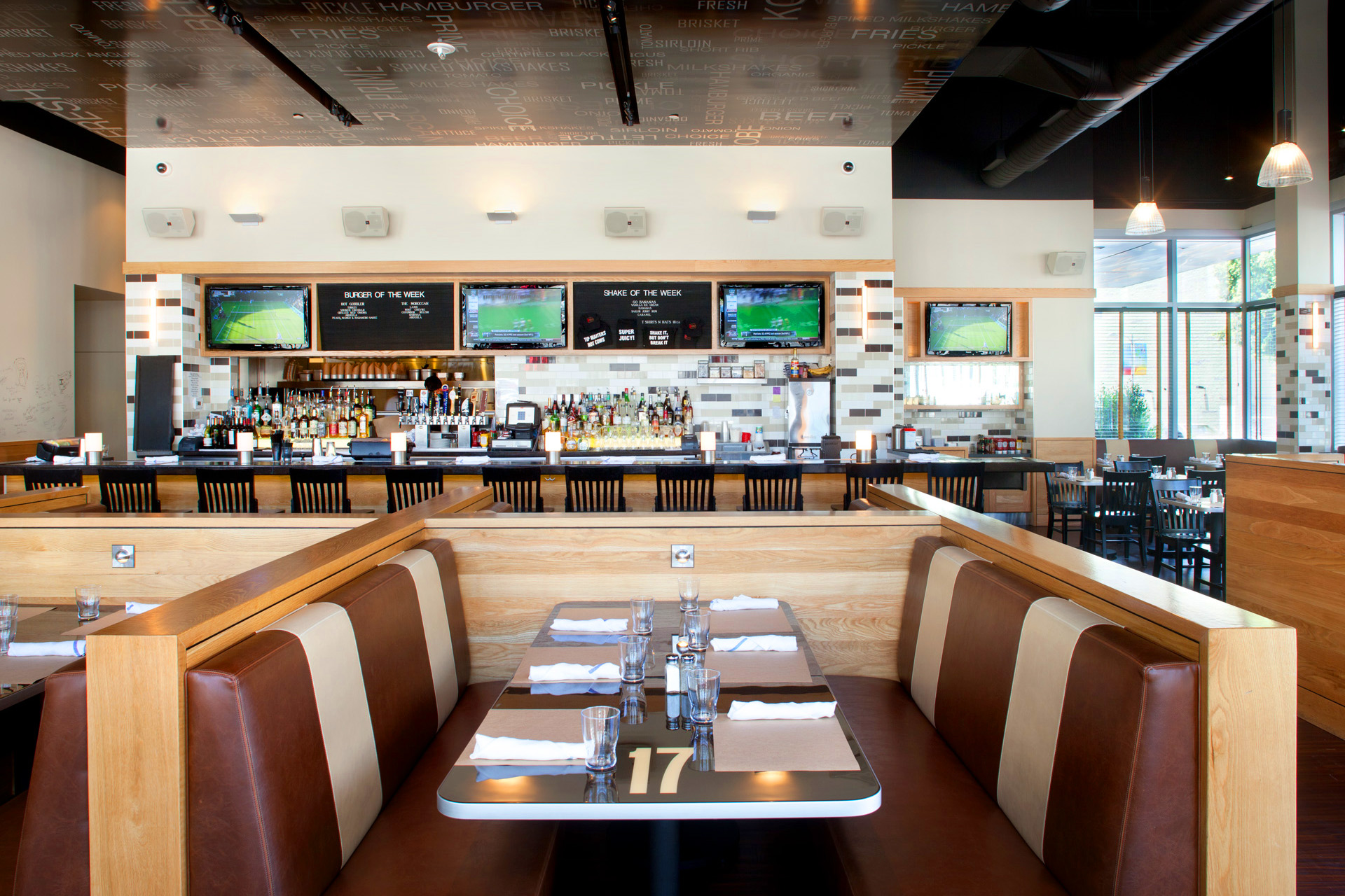 Go Burger LA restaurant design ideas