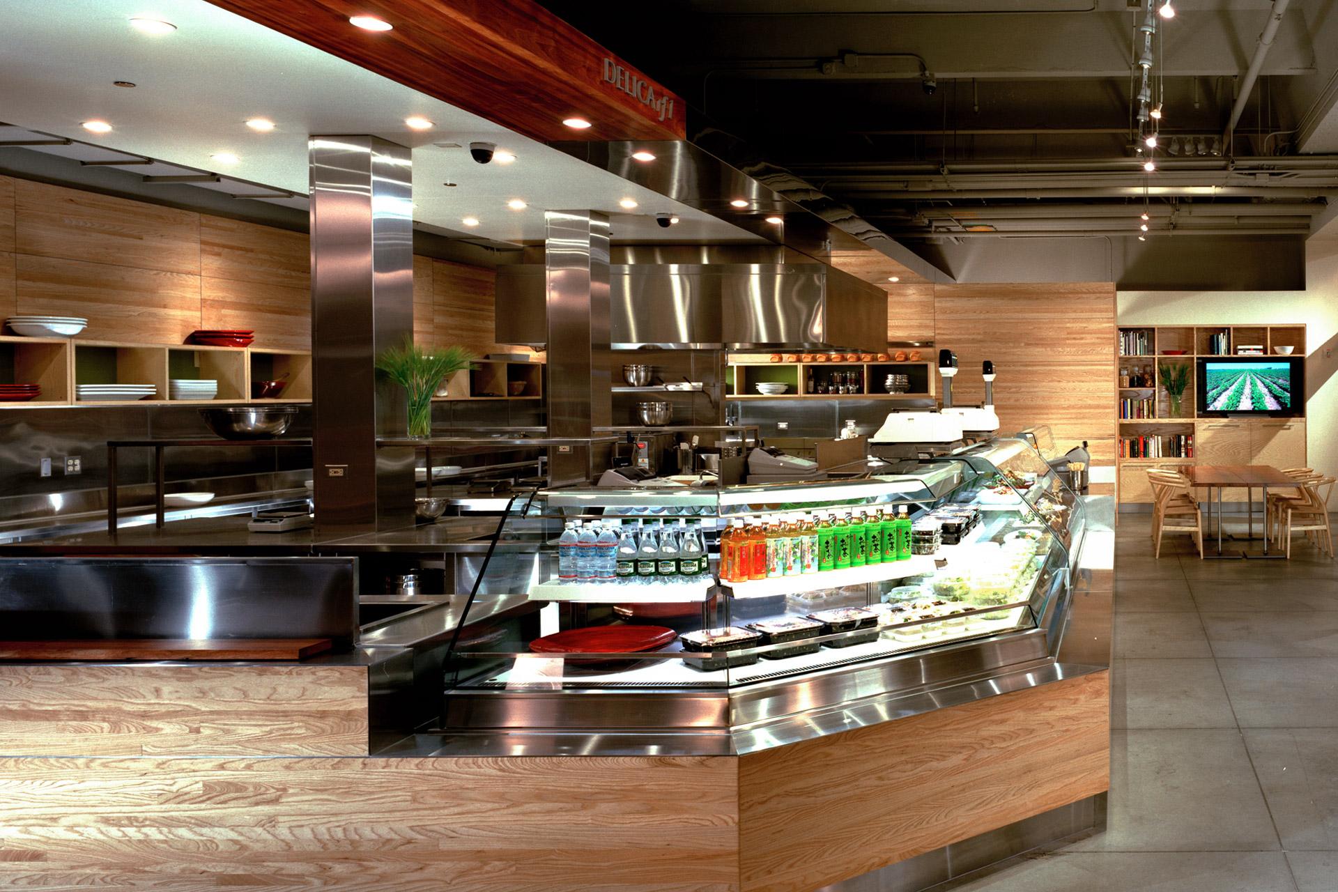 Delica restaurant decor