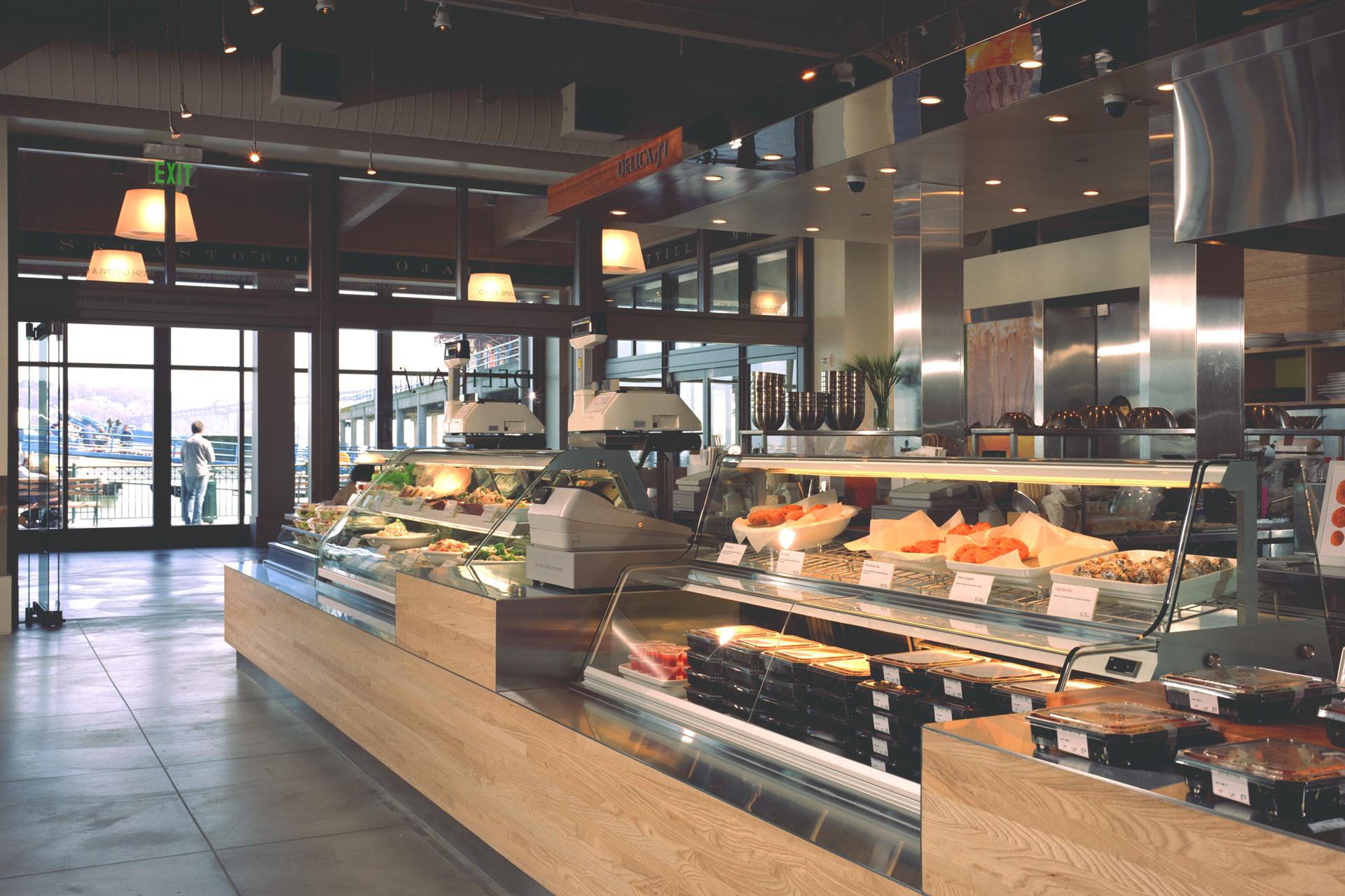 Delica restaurant modern design