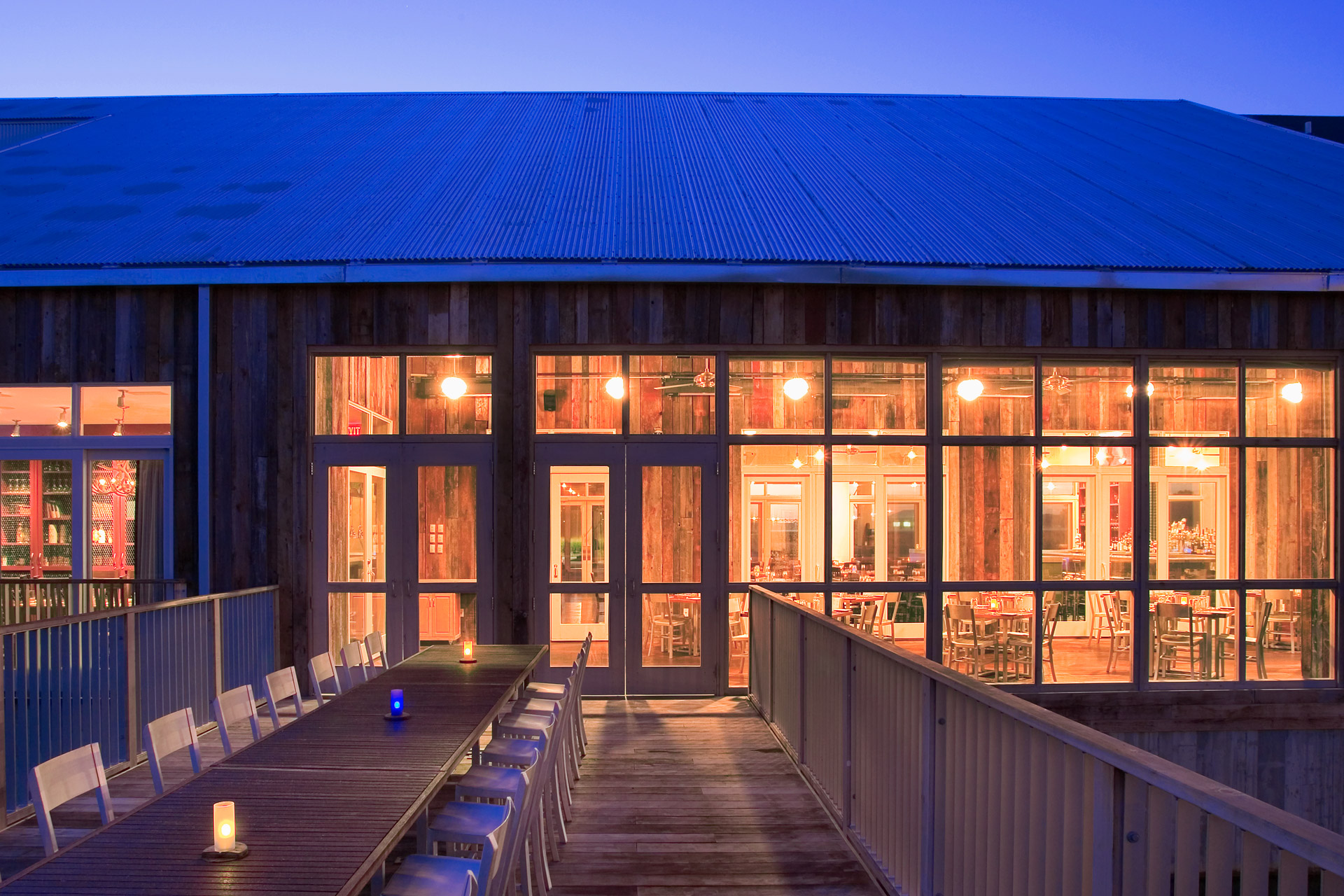 Firefly Grill restaurant architecture