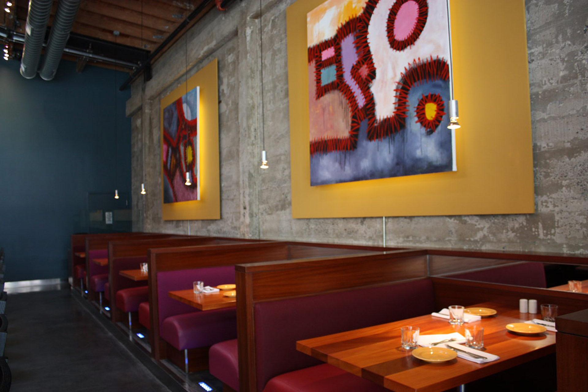 Reposado restaurant design