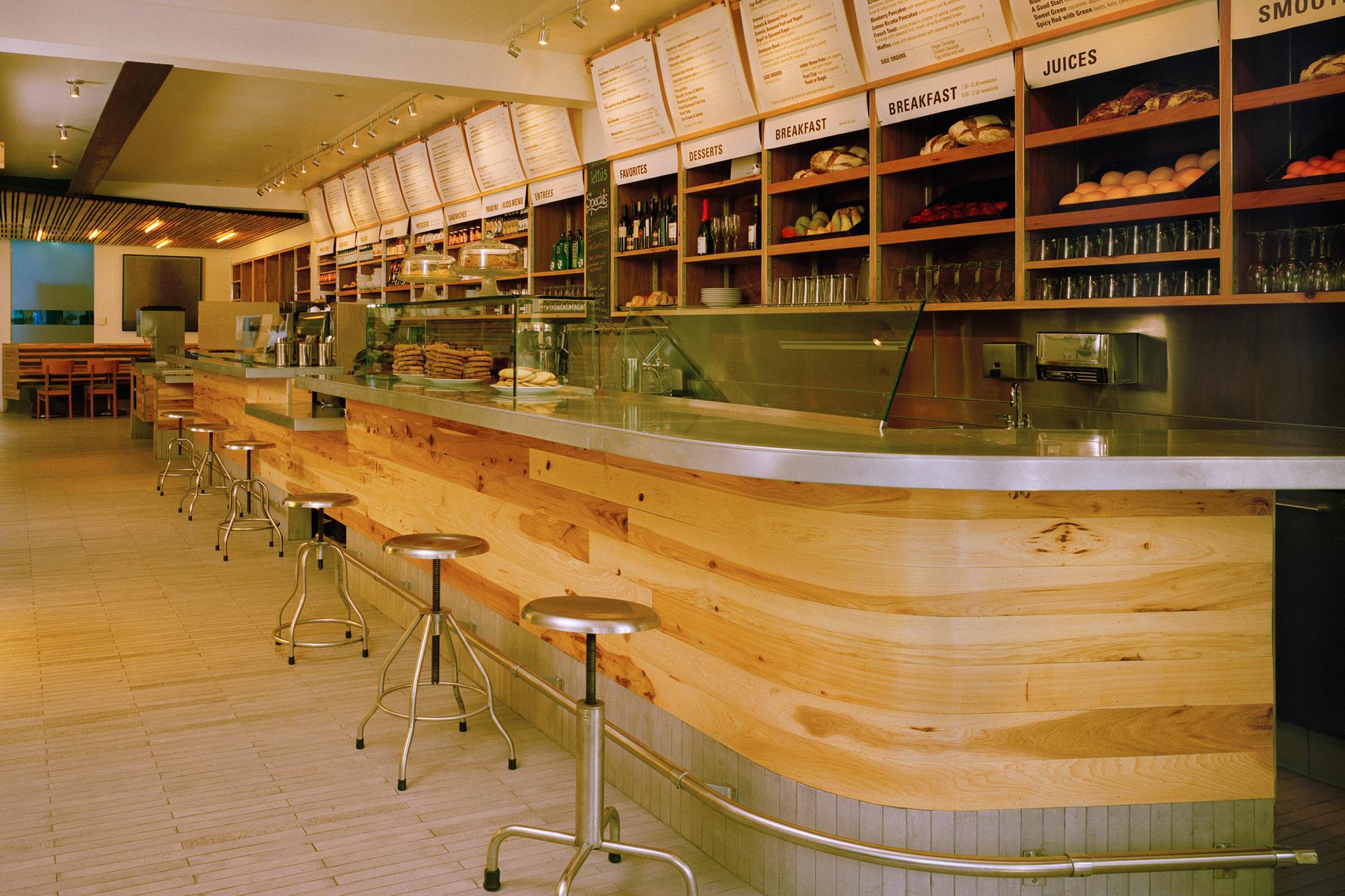 Lettus Café restaurant designer near me