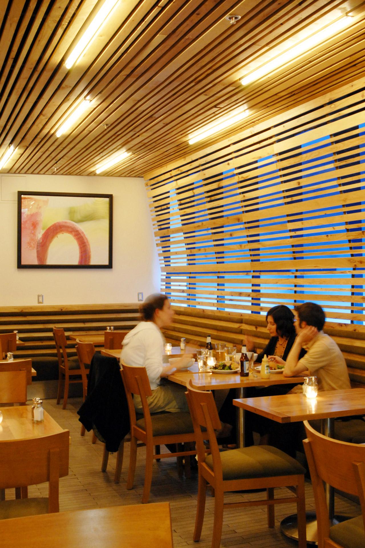 Lettus Café restaurant architecure