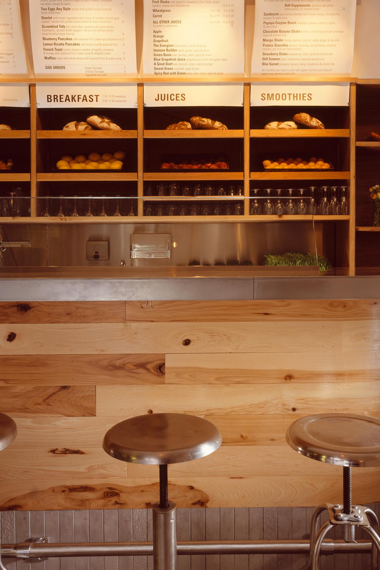 Lettus Café restaurant interiors