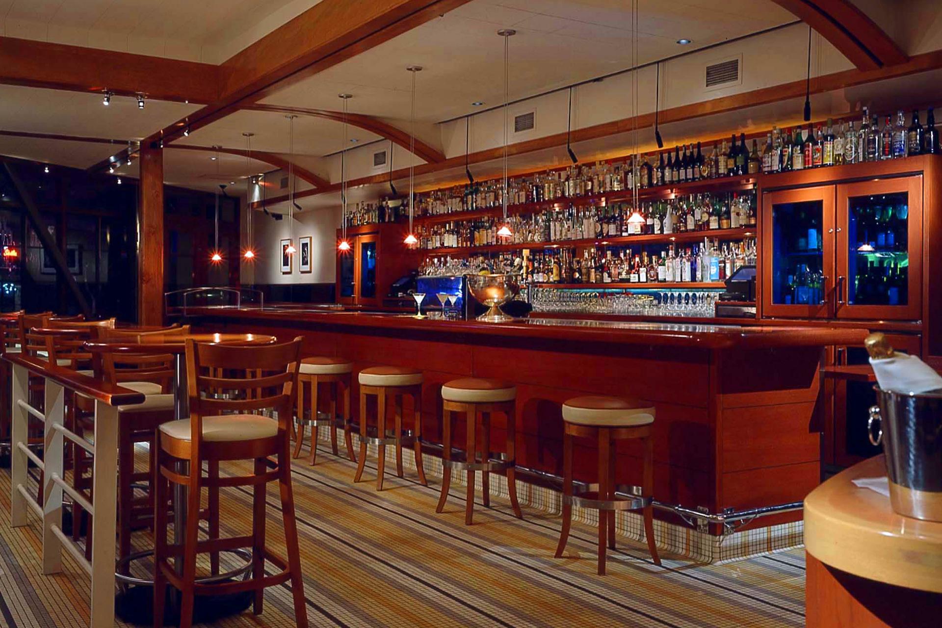 Rose Pistola restaurant modern design