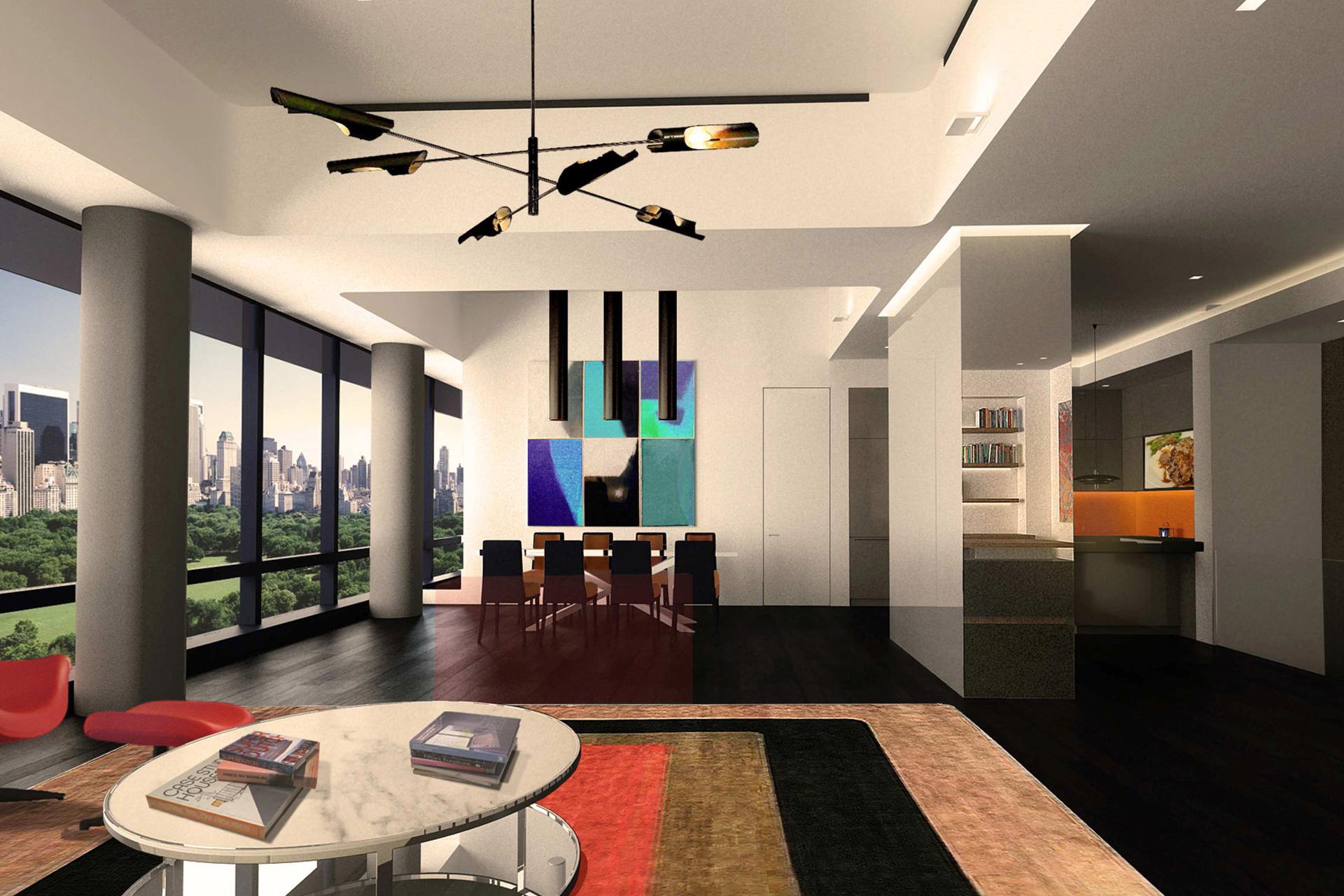 Time Warner Condominium aprtment