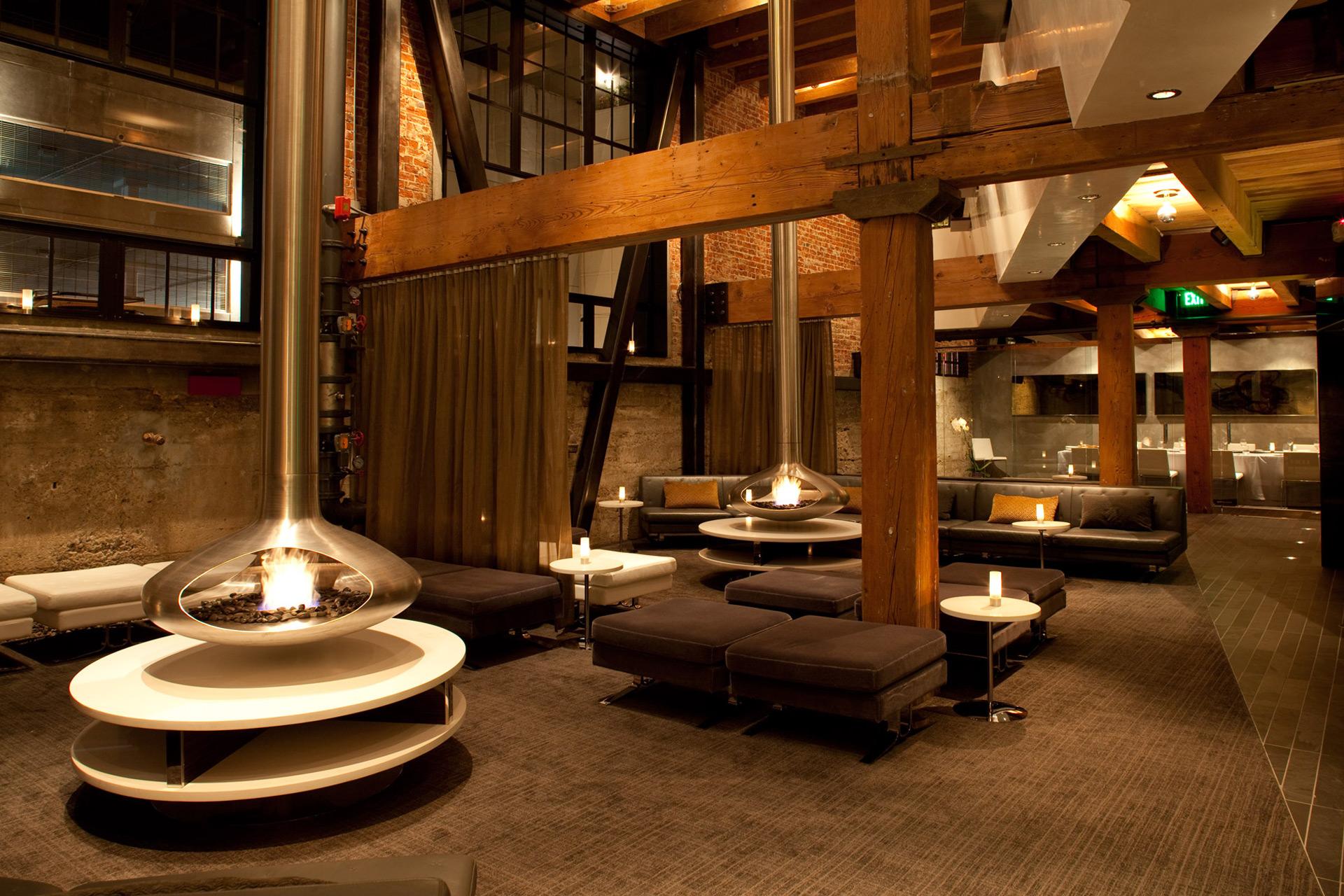 Twenty Five Lusk restaurant decor
