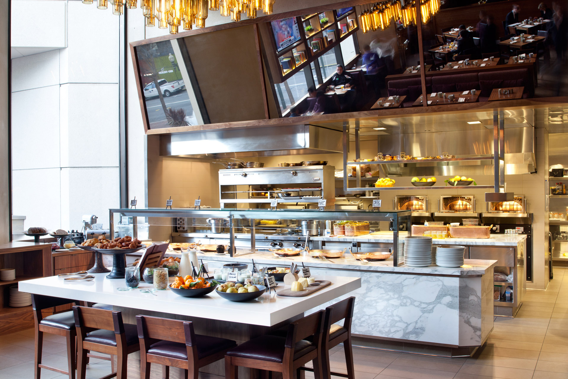 OneUp restaurant design ideas