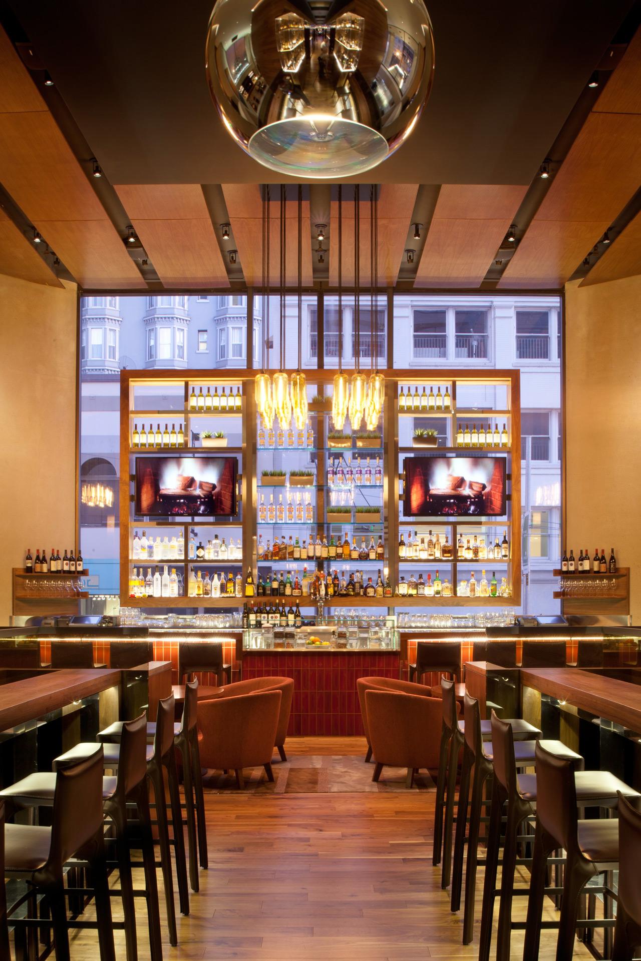 OneUp restaurant modern design
