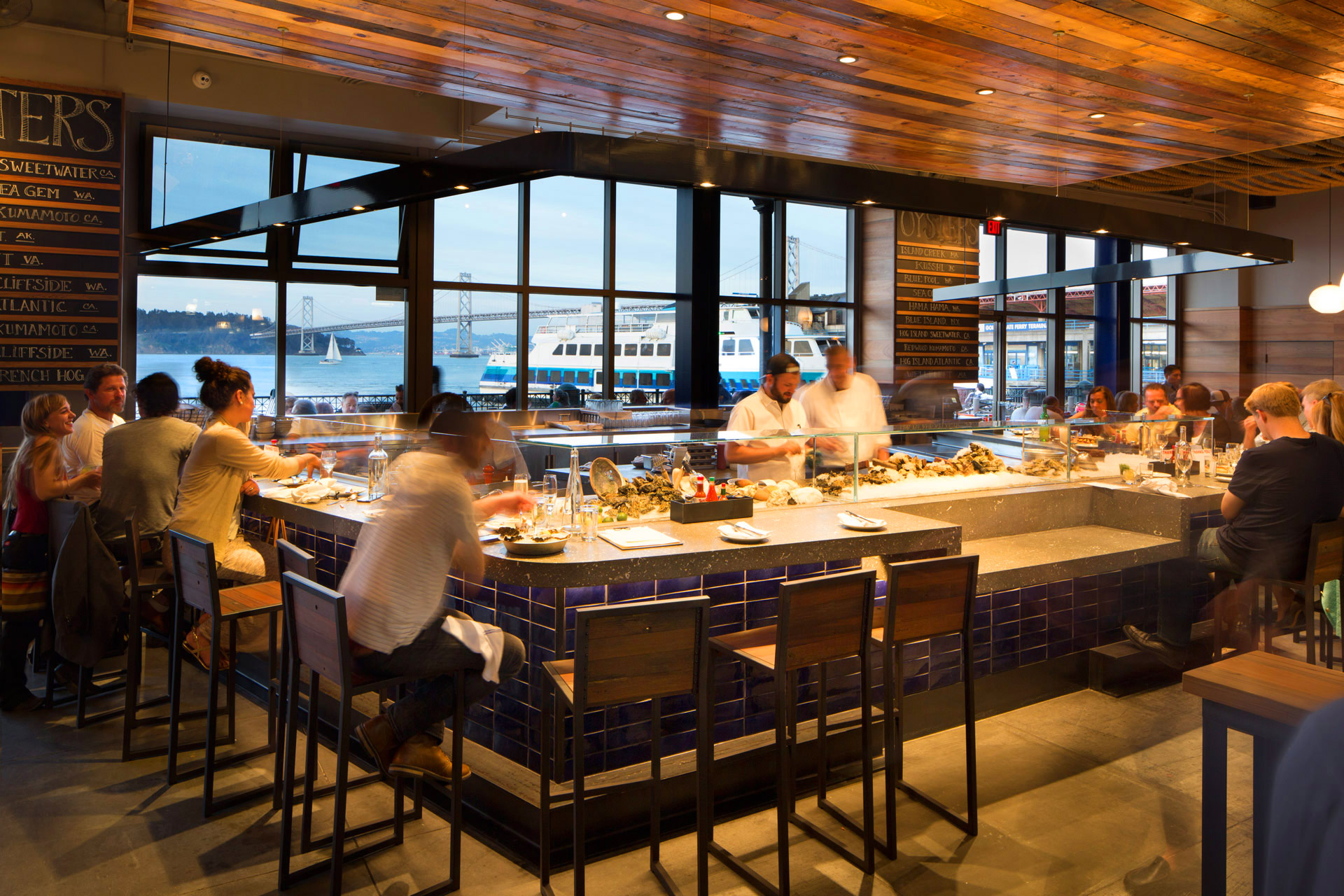 Hog Island Oyster Co. restaurant modern design