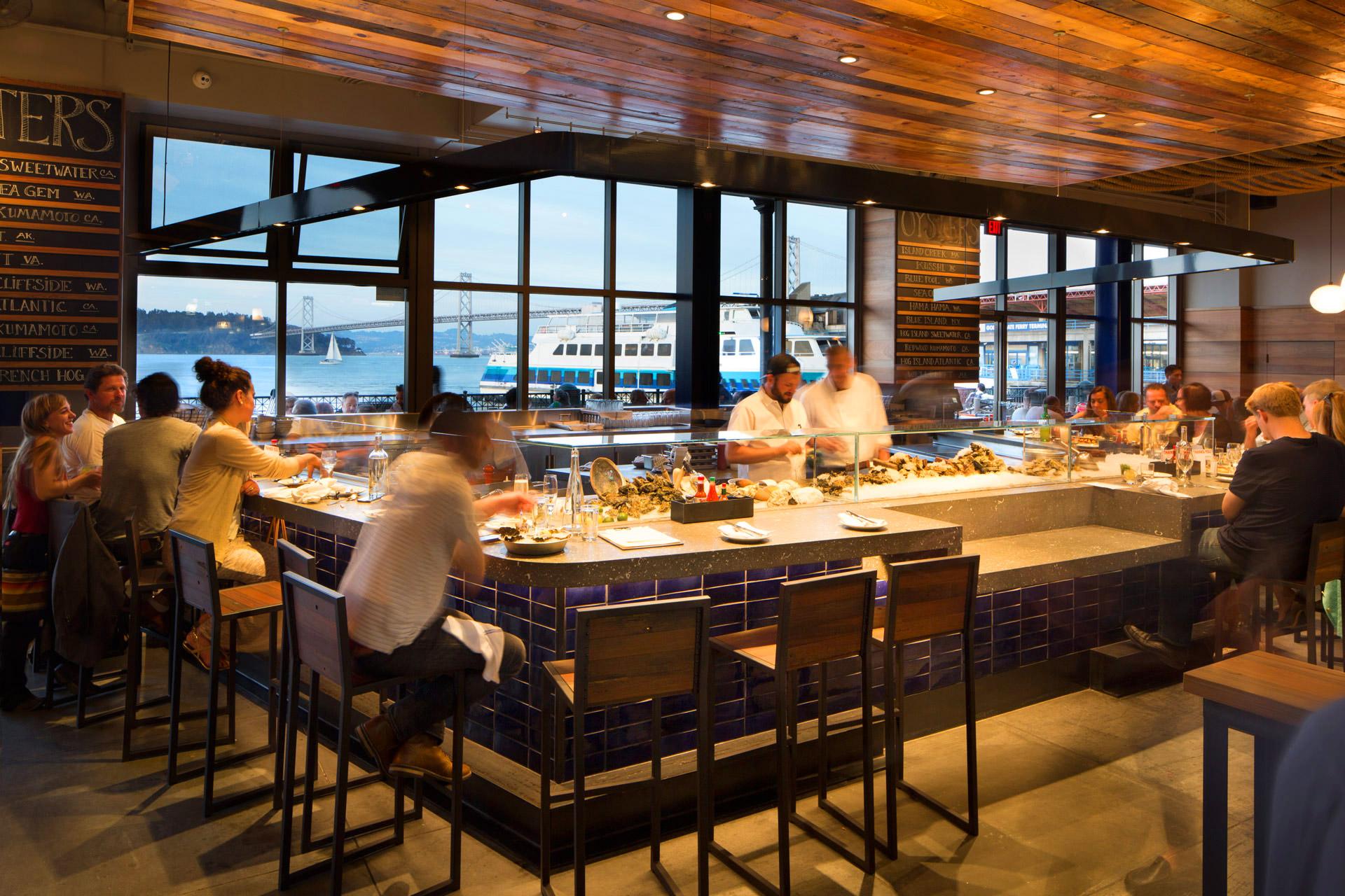 Hog Island Oyster Co. restaurant modern design