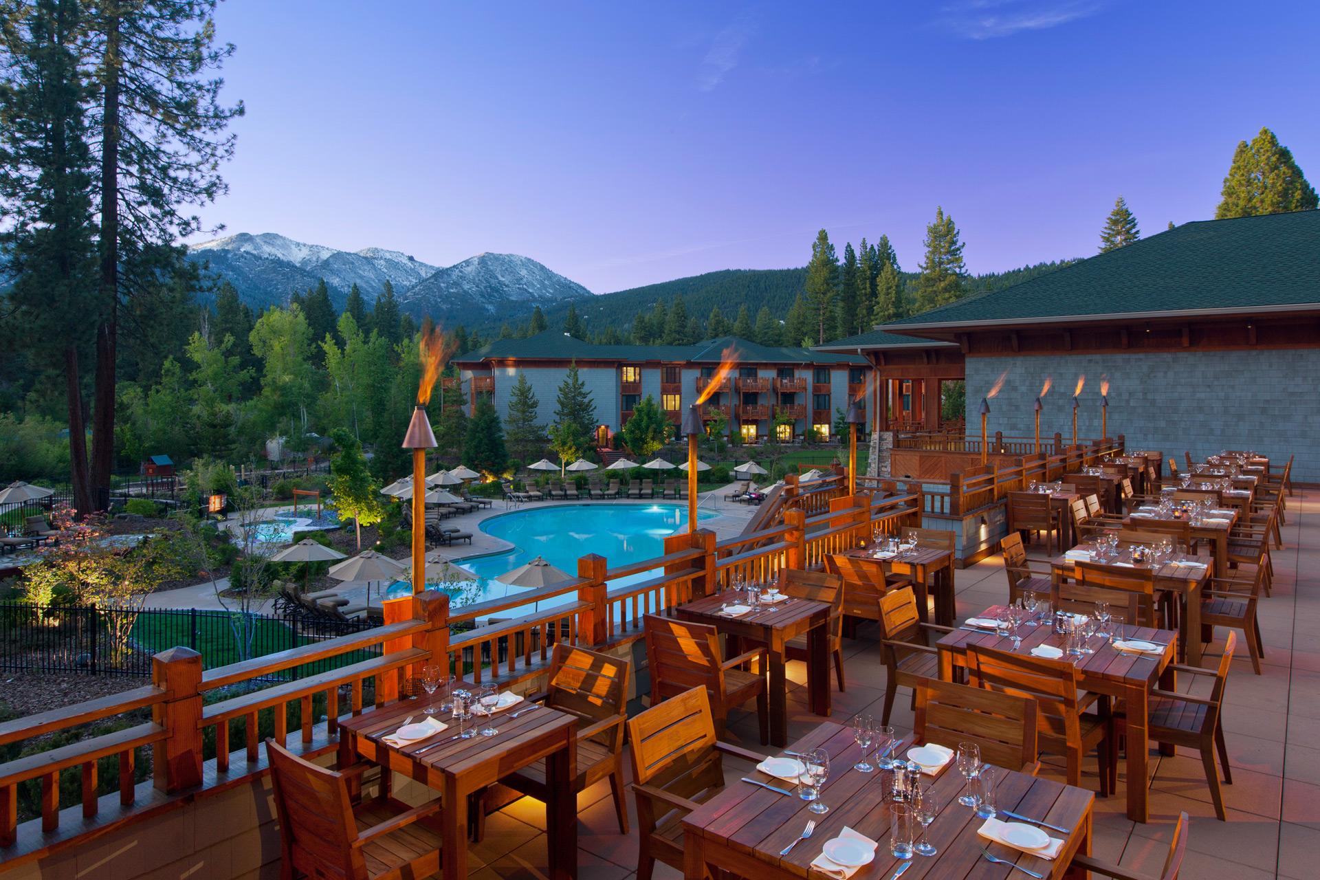 Sierra Café restaurant designer