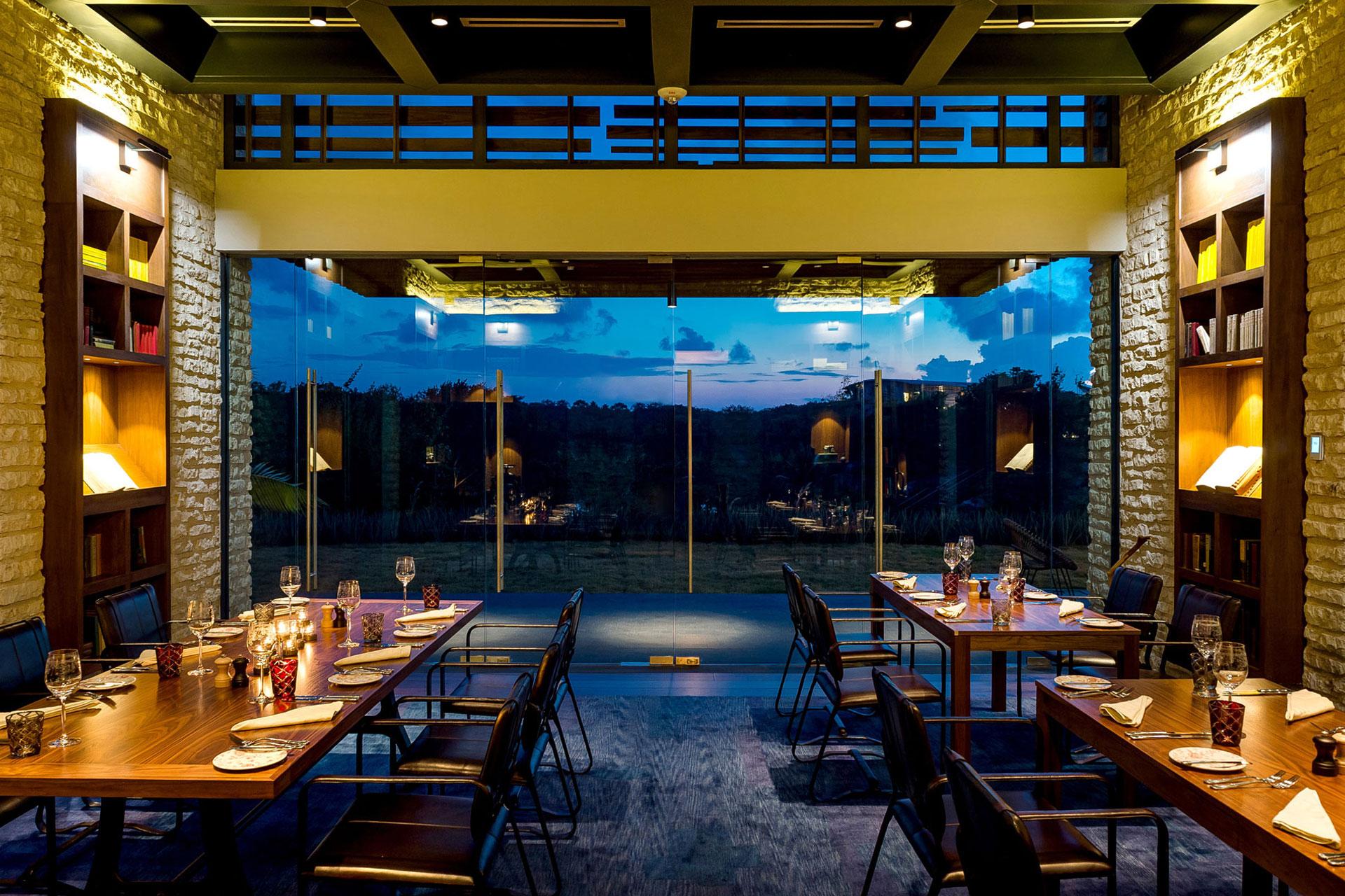 Casa Amate restaurant design