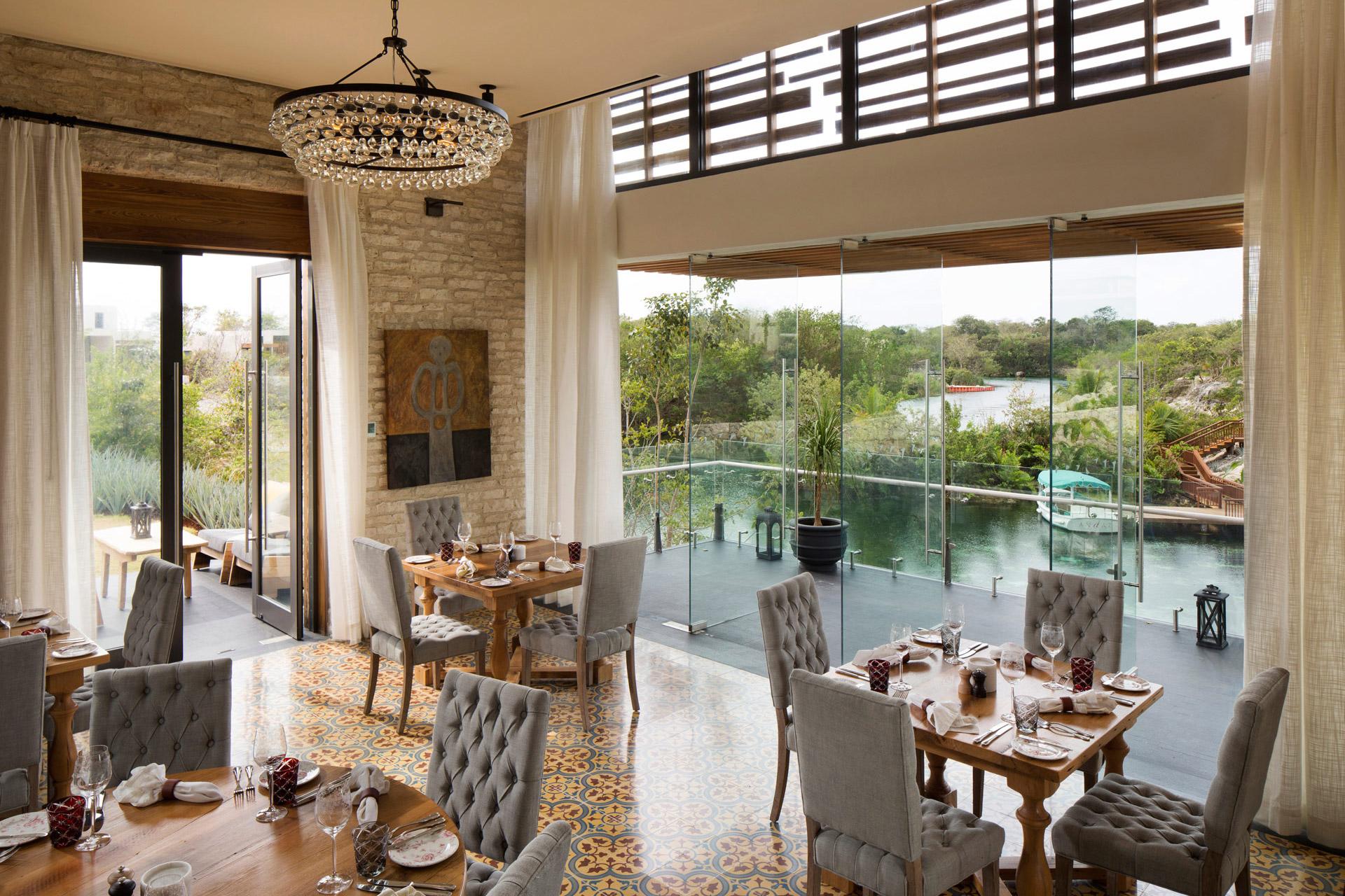 Casa Amate restaurant designer