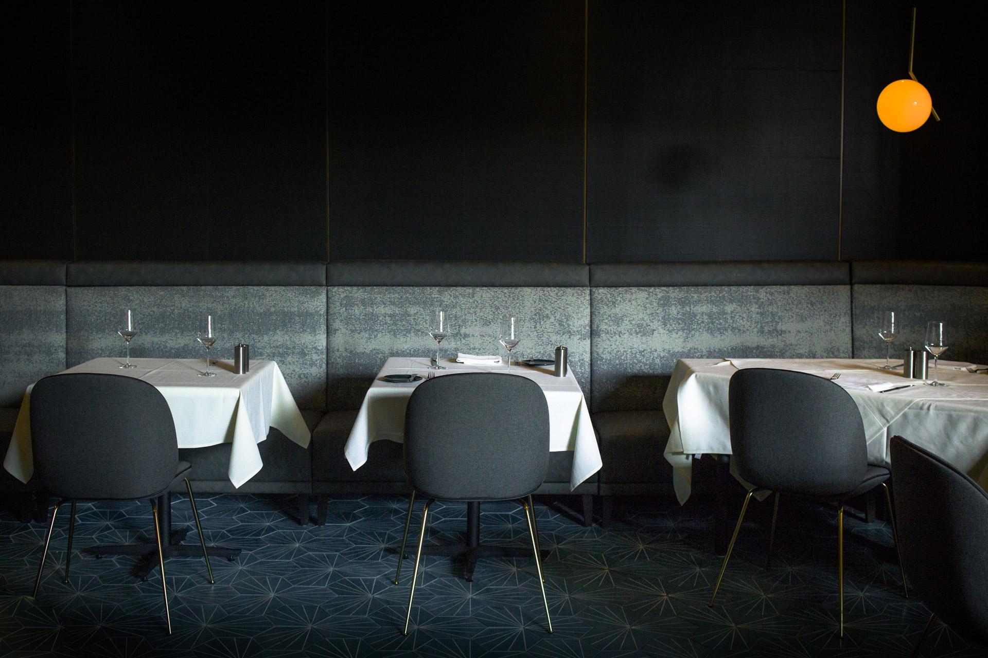 Volta restaurant interiors