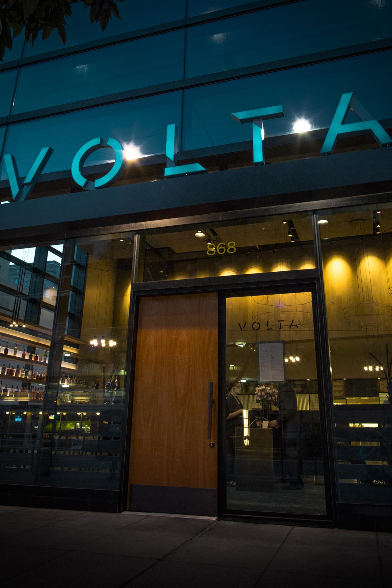 Volta restaurant design