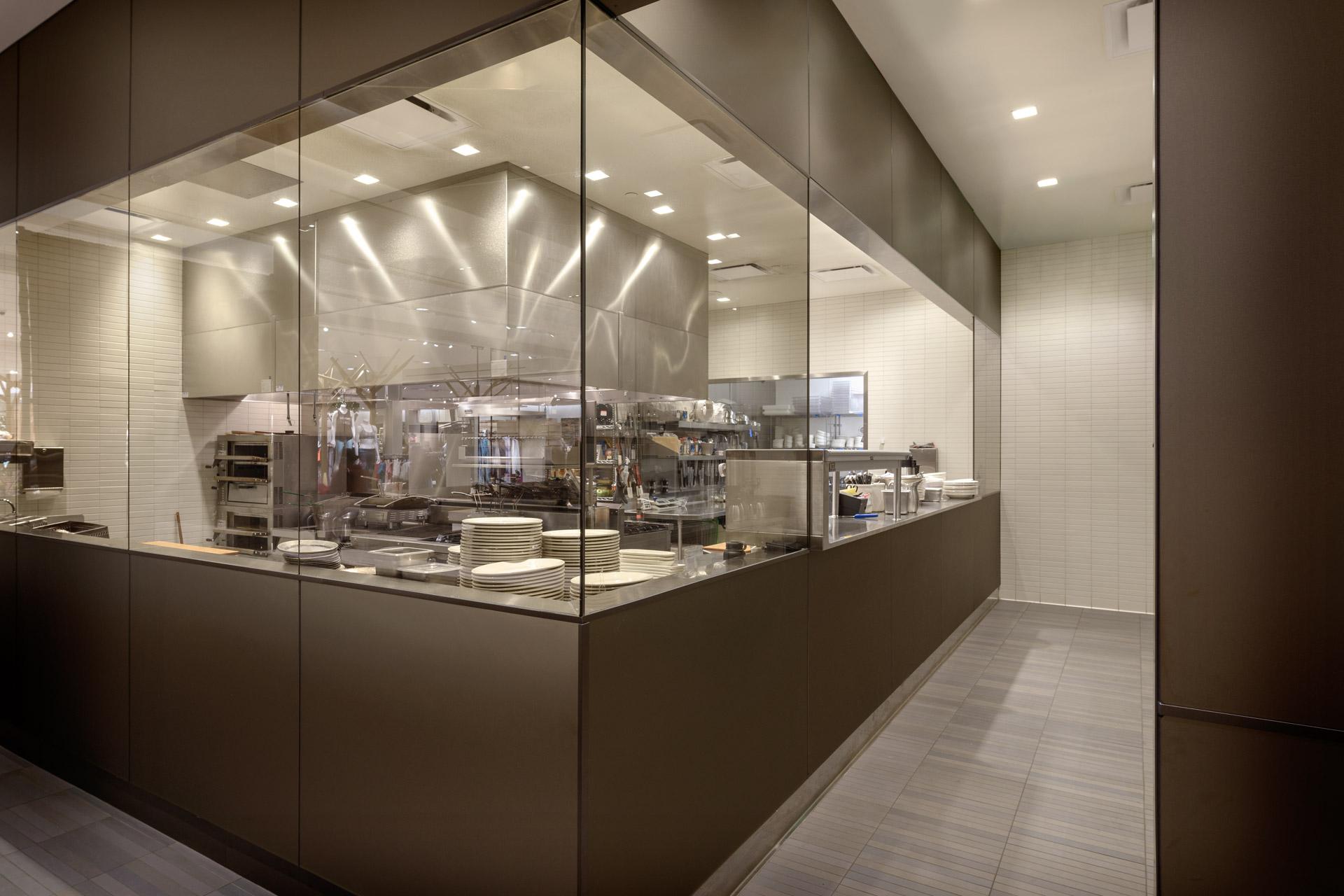Bazille at Nordstrom del Amo restaurant interiors