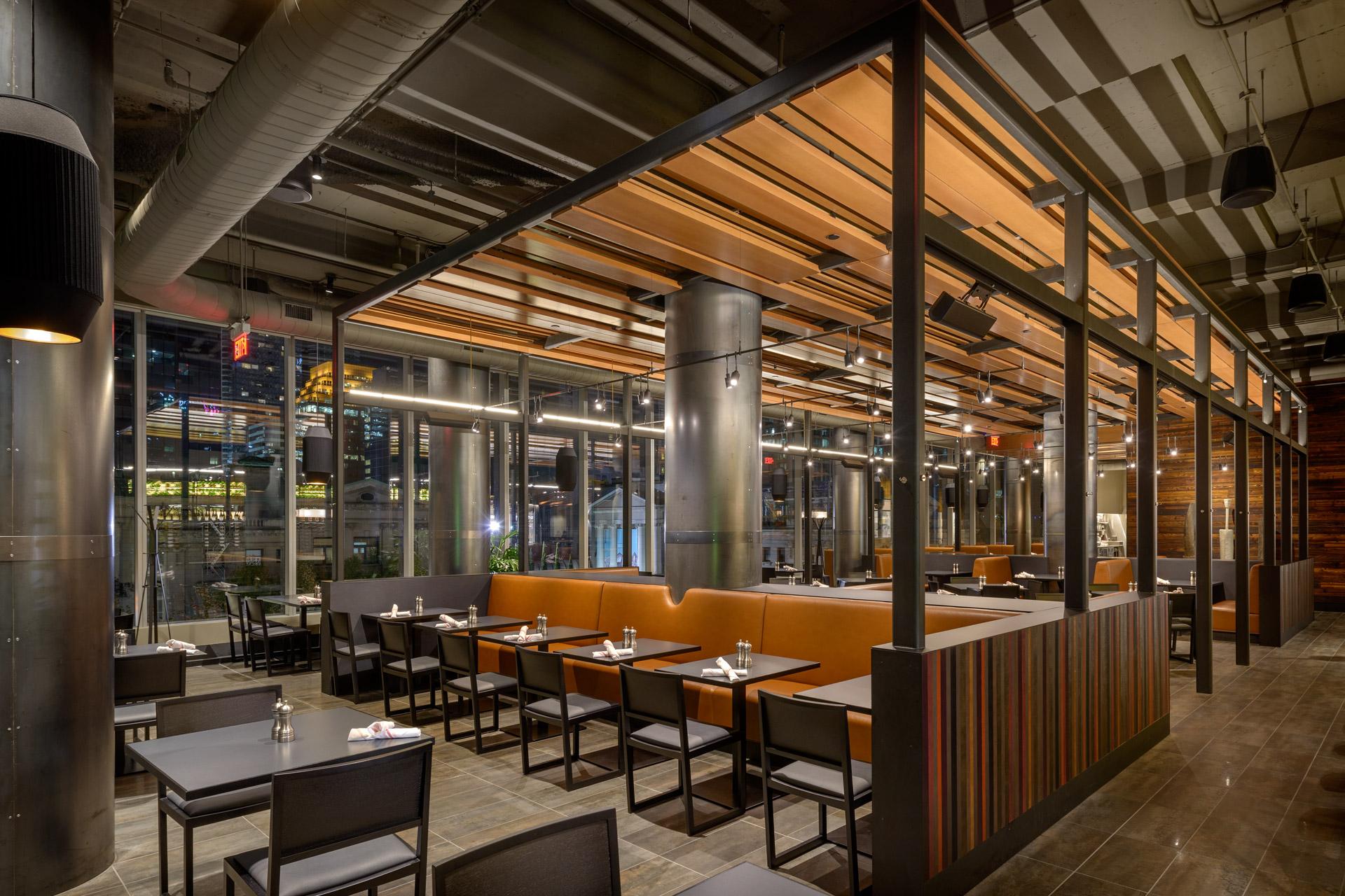 Bistro Verde at Nordstrom restaurant decor ideas