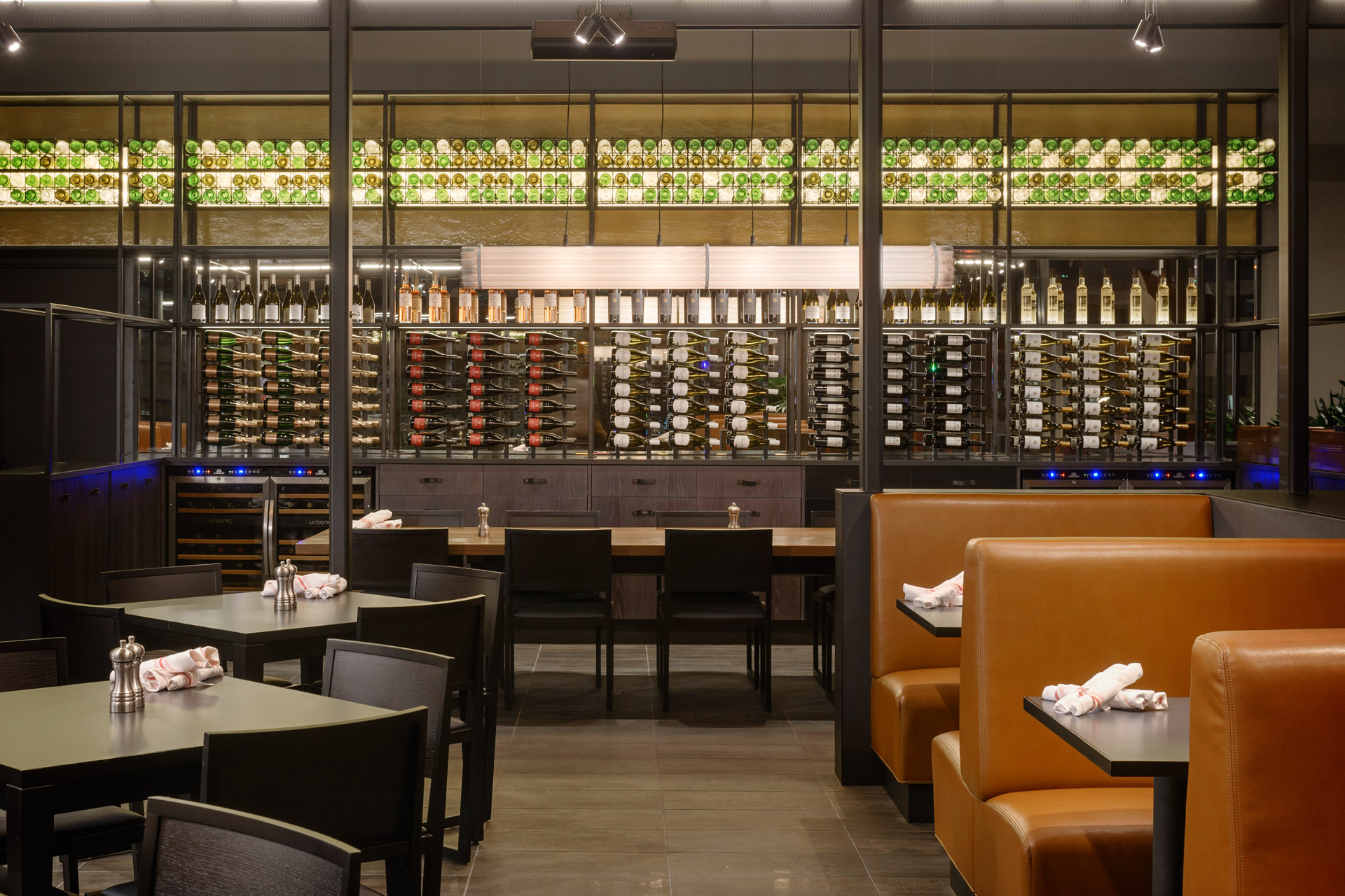 Bistro Verde at Nordstrom luxury restaurant