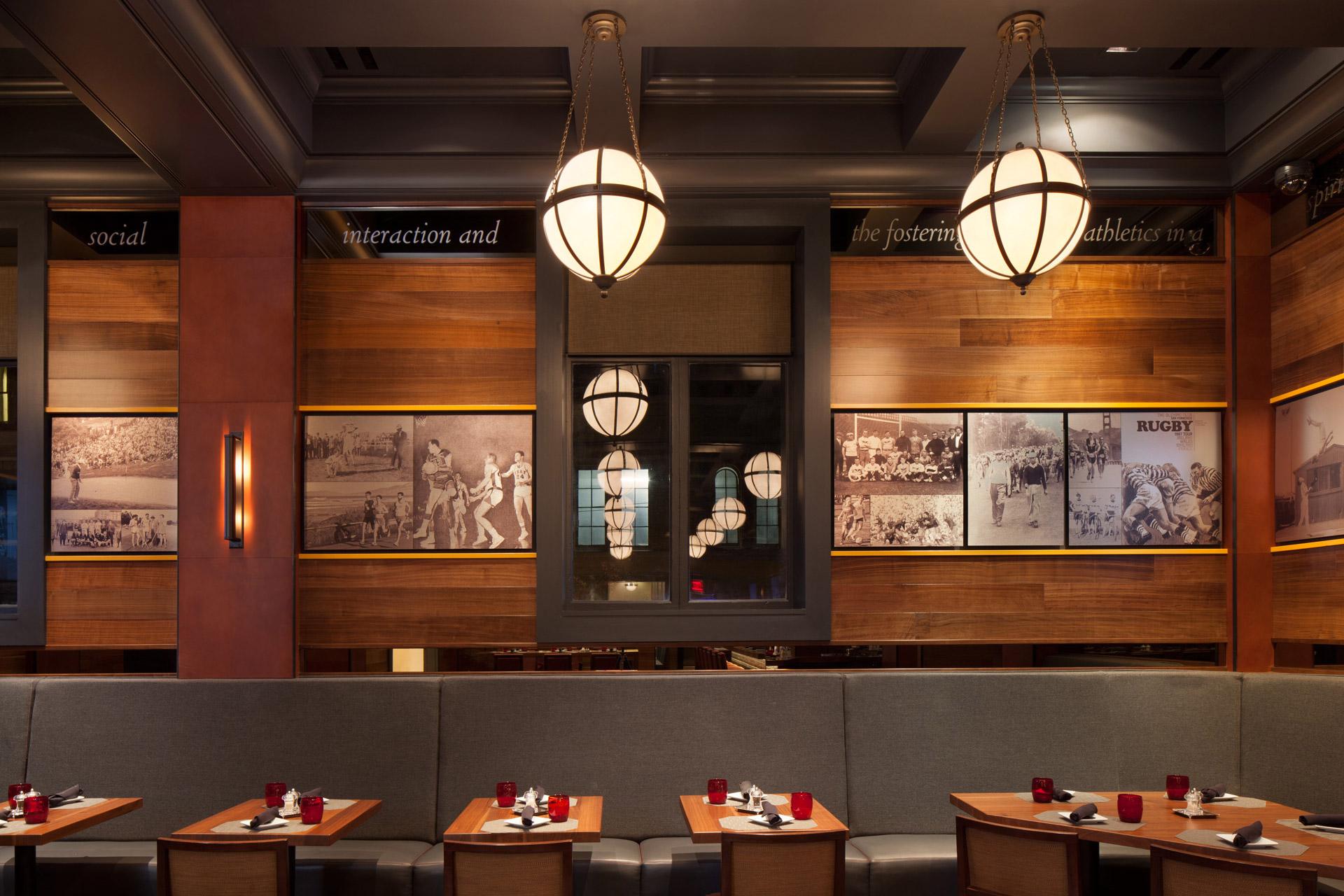 Olympic Club restaurant design
