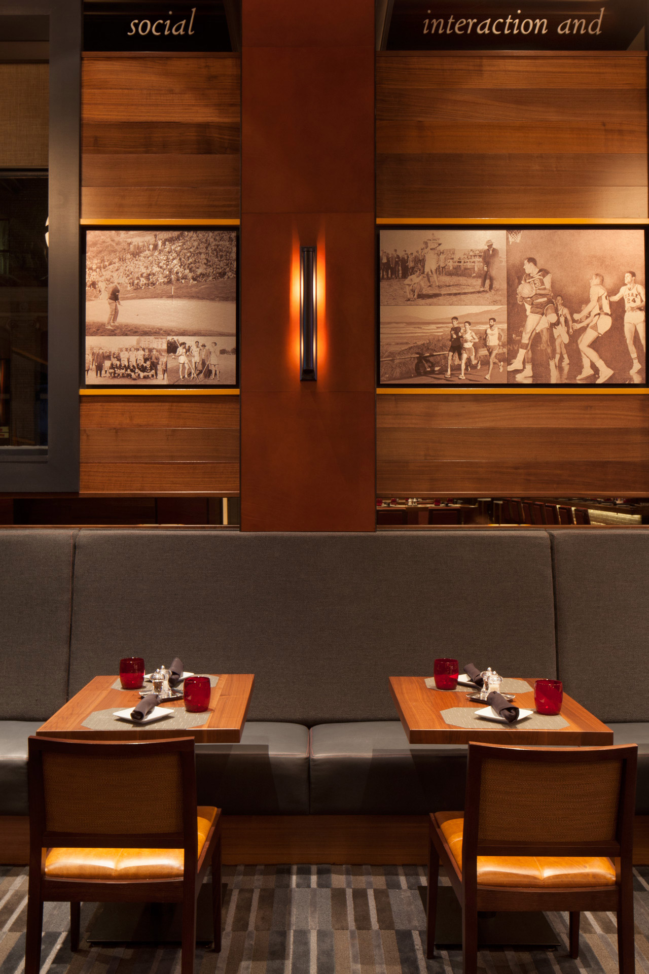 Olympic Club restaurant design