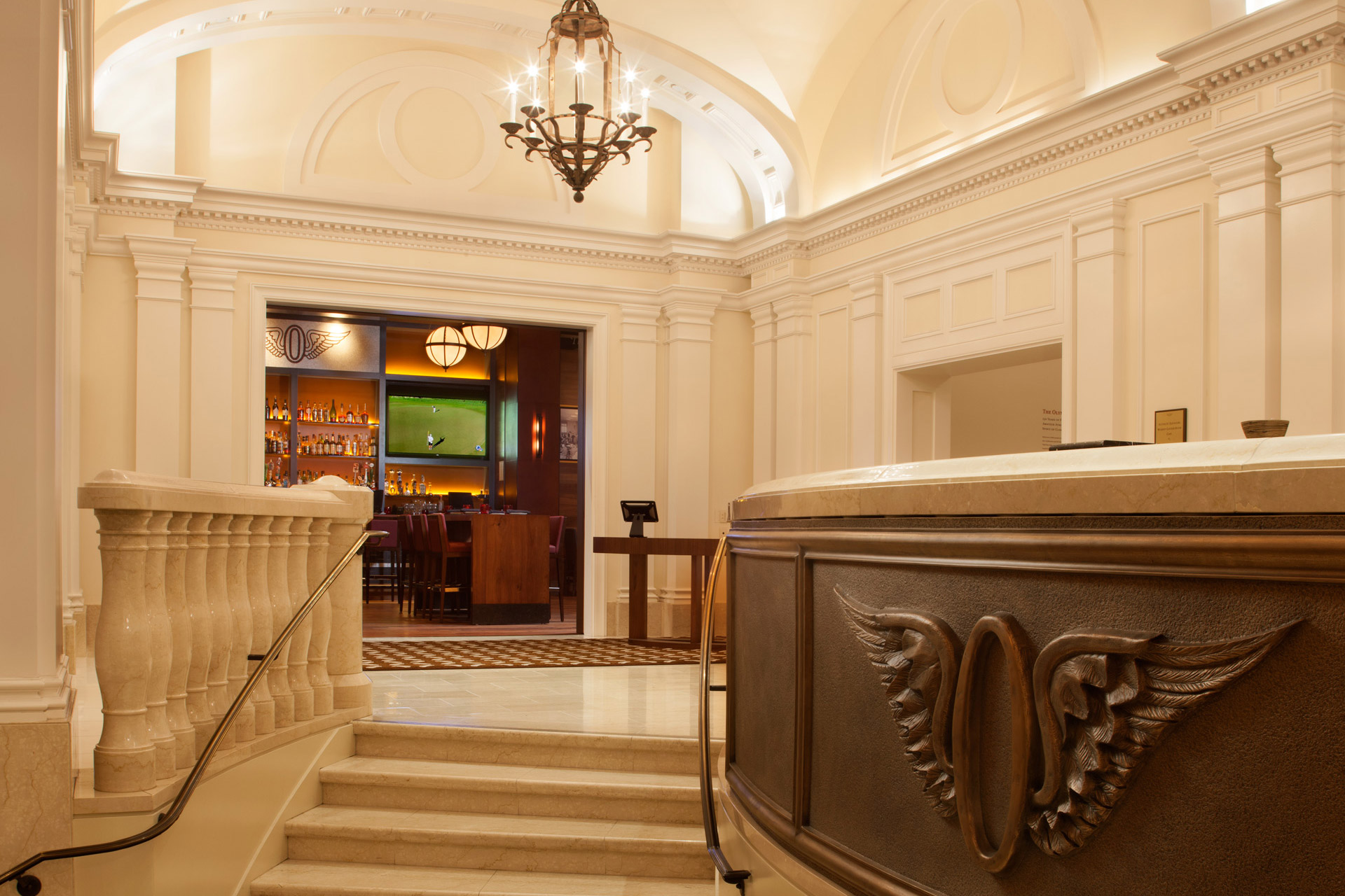Olympic Club restaurant design idea