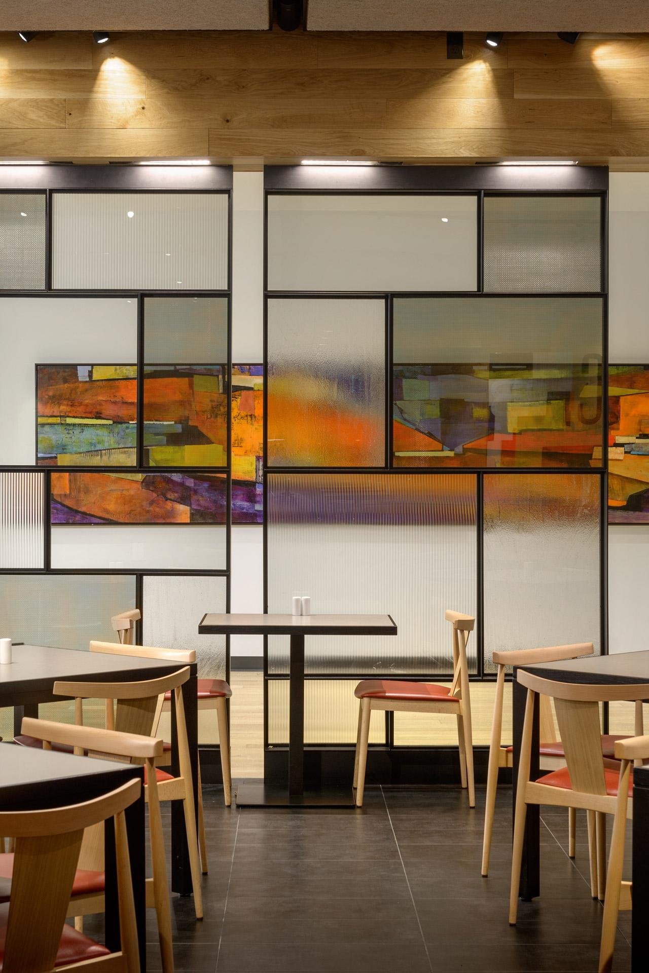 Cafe + Habitant at Nordstrom restaurant decor